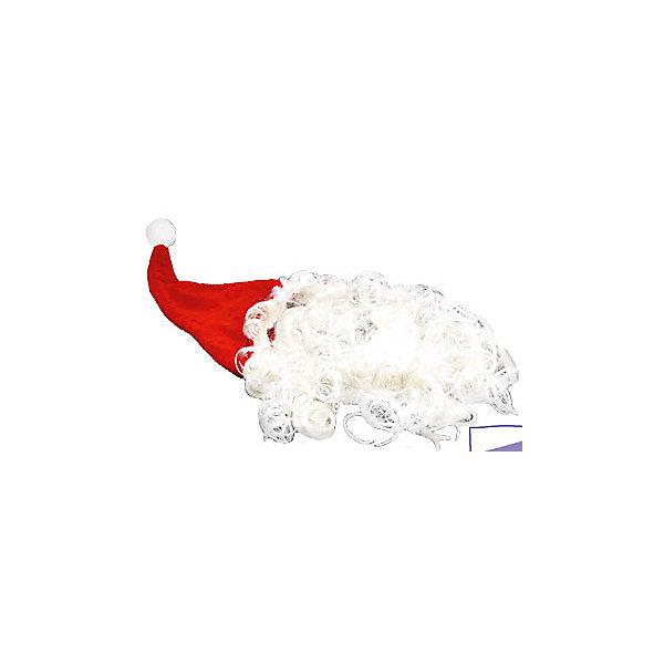 Колпак Дед Мороз, с прической, красный, MARKO FERENZOДетские шляпы и колпаки<br>Характеристики колпака Дед Мороз, с прической, красный, Marko Ferenzo:<br><br>- возраст: от 3 лет<br>- пол: для мальчиков и девочек<br>- цвет: красный белый.<br>- материал: текстиль, синтетические материалы<br>- упаковка: пакет.<br><br>Карнавальный колпак Дед Мороз бренда Marko Ferenzo - это мягкий и качественный колпак, которой можно надевать на голову в преддверии новогоднего праздника или во время праздничного новогоднего застолья. Изделие выполнено в виде красного колпака с белой окантовкой по краям. Красный колпак украшен белой прической и бородой, такой яркий аксессуар будет отличным дополнением к карнавальному костюму.<br><br><br>Красный колпак Дед Мороз с прической торговой  марки  Marko Ferenzo можно купить в нашем интернет-магазине.<br><br>Ширина мм: 180<br>Глубина мм: 80<br>Высота мм: 150<br>Вес г: 14<br>Возраст от месяцев: 120<br>Возраст до месяцев: 192<br>Пол: Унисекс<br>Возраст: Детский<br>SKU: 5105647
