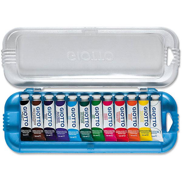 Плакатная гуашь на водной основе в алюминиевых тюбиках 7,5 мл х 12 цветовРисование и лепка<br>Плакатная гуашь на водной основе в алюминиевых тюбиках 7,5 мл х 12 цв. Экстра-яркие насыщенные цвета, высокая концентрация пигмента, максимальная укрывистость. Набор в палстиковом кейсе.<br>Ширина мм: 21; Глубина мм: 102; Высота мм: 270; Вес г: 263; Возраст от месяцев: 72; Возраст до месяцев: 120; Пол: Унисекс; Возраст: Детский; SKU: 5107820;