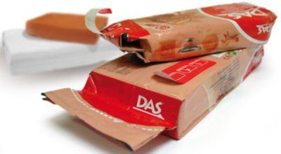 DAS Масса для моделирования на основе натуральной глины, терракотовая, 1 кг