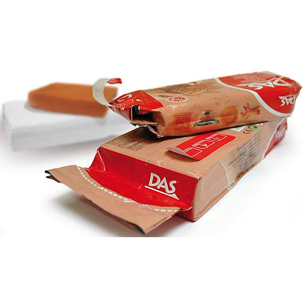 Масса для моделирования на основе натуральной глины, терракотовая, 1 кгНаборы полимерной глины<br>Характеристики товара:<br><br>• масса пасты: 1 кг;<br>• цвет пасты: терракотовый;<br>• размер упаковки: 19х10х3,5 см;<br>• вес: 1 кг;<br>• возраст: от 3 лет.<br><br>Паста DAS прекрасно подойдет для самостоятельных занятий по моделированию. Она не требует специальной подготовки и уже готова к использованию. Во время использования пасту можно смачивать водой. Терракотовый цвет пасты подходит для имитации изделий из красной глины. Не требует обжига.<br><br>Паста DAS не прилипает к рукам и хорошо шлифуется. Готовые поделки подходят для окрашивания акриловыми красками и лаком. Для затвердения пасты необходимо оставить фигурку на воздухе. Время высыхания занимает от нескольких часов до нескольких суток, в зависимости от объема фигурки. Готовая фигурка не трескается.<br><br>Пасту для моделирования 1000гр, терракотовая можно купить в нашем интернет-магазине.<br><br>Ширина мм: 36<br>Глубина мм: 97<br>Высота мм: 190<br>Вес г: 1041<br>Возраст от месяцев: 72<br>Возраст до месяцев: 120<br>Пол: Унисекс<br>Возраст: Детский<br>SKU: 5107856