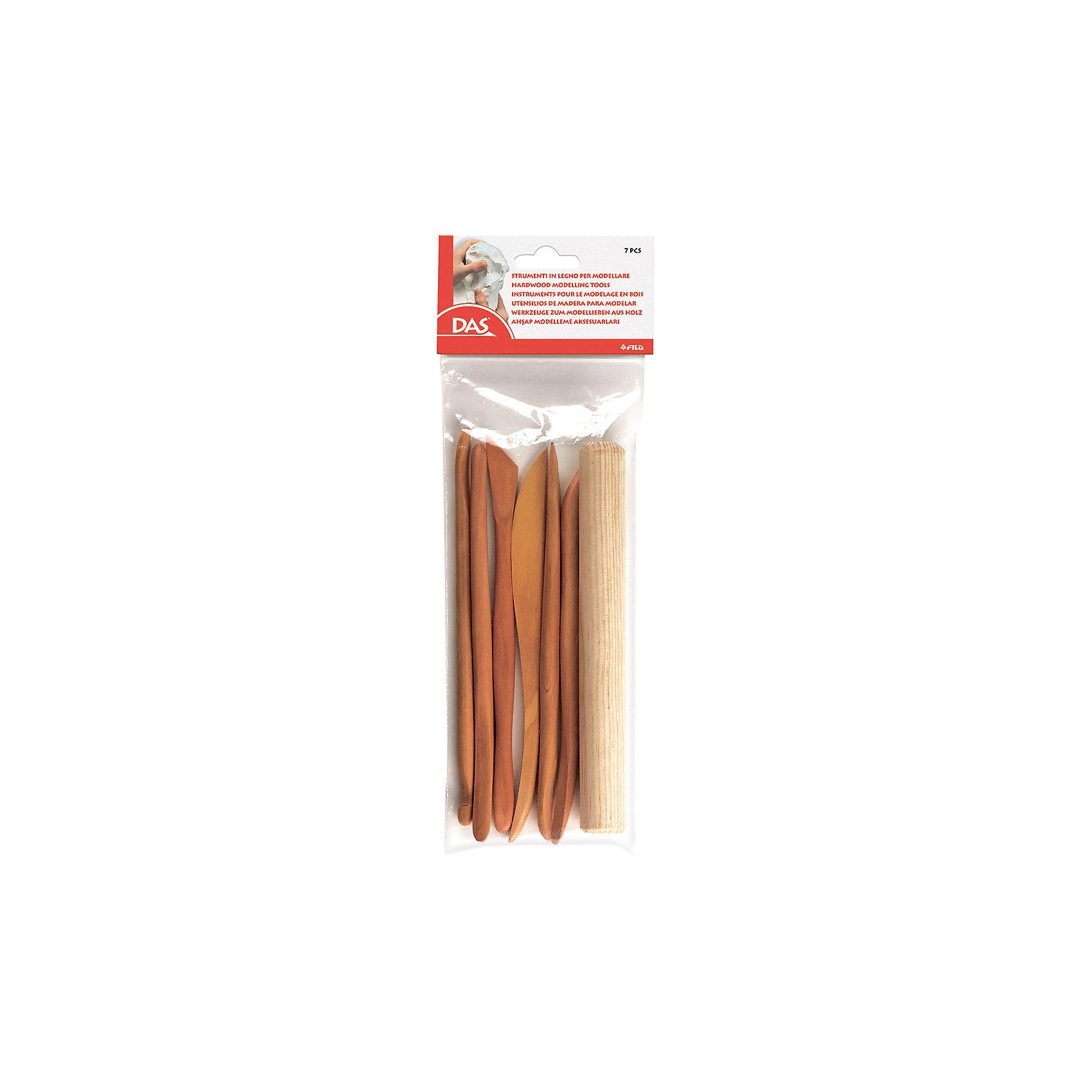 Деревянные стеки для моделирования, 7 шт в блистере.Деревянные стеки для моделирования, 7 шт. в блистере.<br><br>Характеристики:<br><br>• Материал: дерево.<br>• Количество: 7шт.<br><br>Деревянные стеки предназначены для обрезки и выравнивания материала, из которого выполняется поделка или скульптура. Стеки изготовлены из твердых пород дерева, легкие и безопасные. Лезвия достаточно прочные, чтобы разрезать брикет пластилина средней твердости. С такими инструментами ваш творческий замысел обязательно воплотиться!<br><br>Деревянные стеки для моделирования, 7 шт. в блистере, можно купить в нашем интернет – магазине.<br><br>Ширина мм: 22<br>Глубина мм: 280<br>Высота мм: 110<br>Вес г: 136<br>Возраст от месяцев: 72<br>Возраст до месяцев: 120<br>Пол: Унисекс<br>Возраст: Детский<br>SKU: 5107857