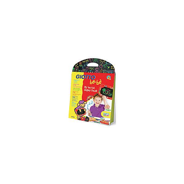 Набор для рисования мелом, Giotto BebeМелки для асфальта<br>Характеристики товара:<br><br>• в комплекте: доска, 10 мелков, держатель для мела, губка-стиратель;<br>• размер упаковки: 30х48х45 см;<br>• материал: пластик, мел;<br>• вес: 600 грамм;<br>• возраст: от 3 лет.<br><br>Набор Giotto be-be станет настоящим подарком для юных художников. В набор входят: доска, мелки, губка и держатель для мела. Все элементы набора украшены красивыми рисунками с изображением овечек. На доске можно писать с двух сторон, благодаря чему игры ребенка будут интересными и разнообразными. Набор отличается компактными размерами и удобной упаковкой, поэтому ребенок сможет взять его с собой в дорогу.<br><br>Giotto be-be (Джотто Бебе) Набор для рисования мелом: доска, набор мелков 10цв, держатель для мела, губка-стиратель можно купить в нашем интернет-магазине.<br>Ширина мм: 310; Глубина мм: 56; Высота мм: 560; Вес г: 616; Возраст от месяцев: 24; Возраст до месяцев: 72; Пол: Унисекс; Возраст: Детский; SKU: 5107866;