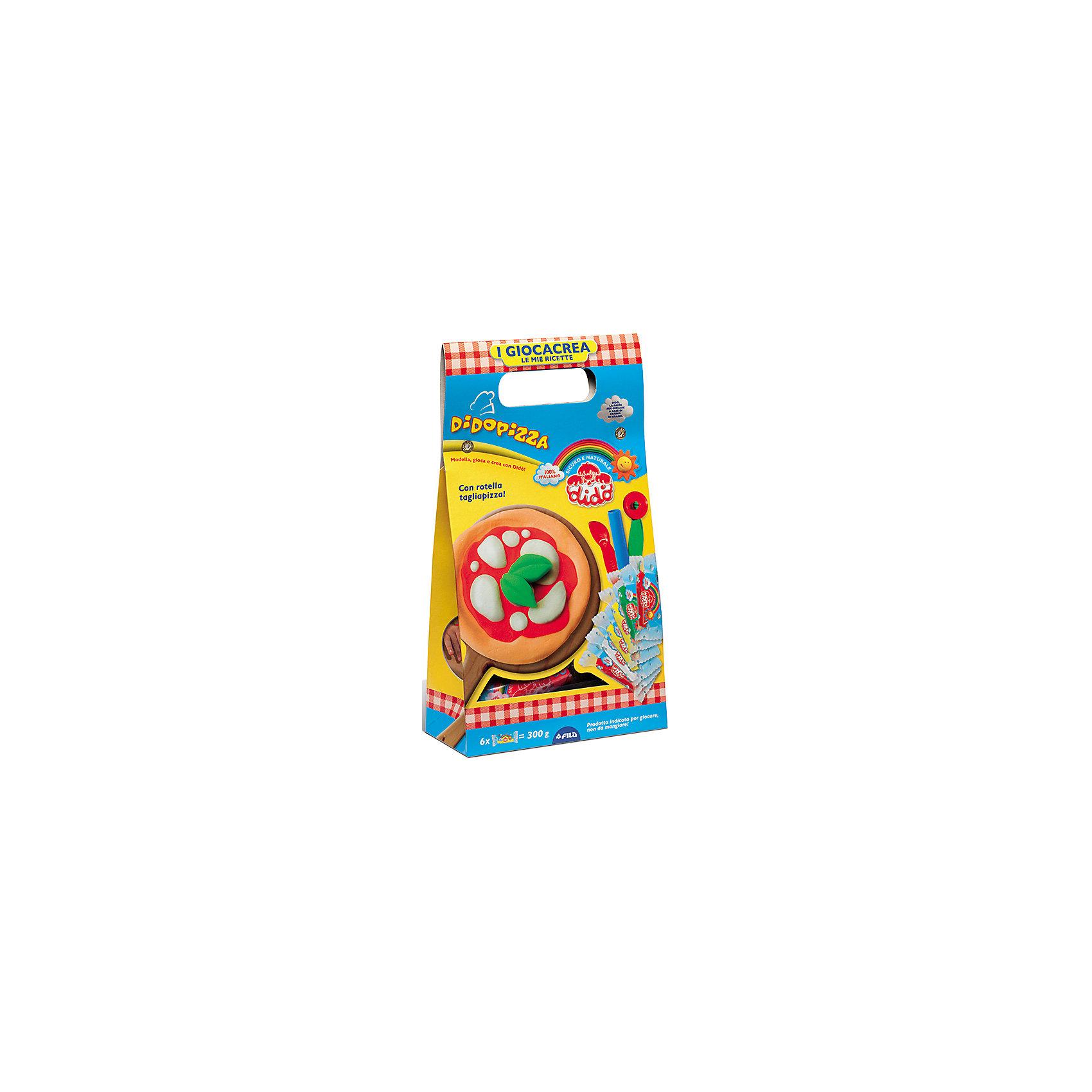 Dido Набор для творчества в ведерке Пицца. набор для детского творчества набор веселая кондитерская 1 кг
