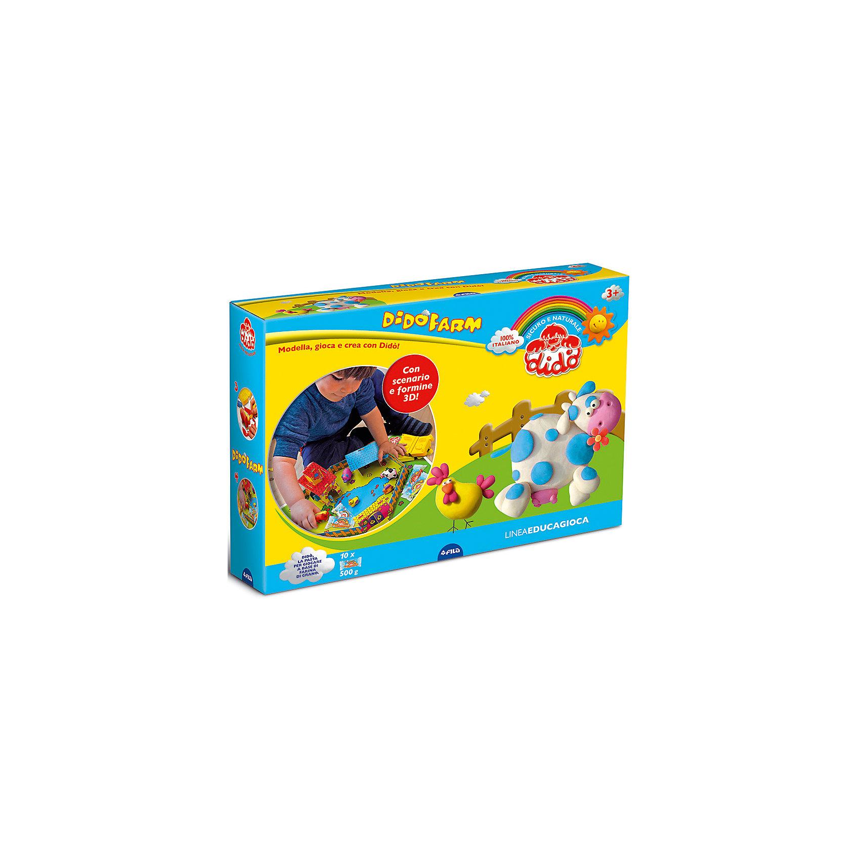 Dido Набор для творчества Веселая ферма barneybuddy barneybuddy игрушки для ванны стикеры веселая ферма