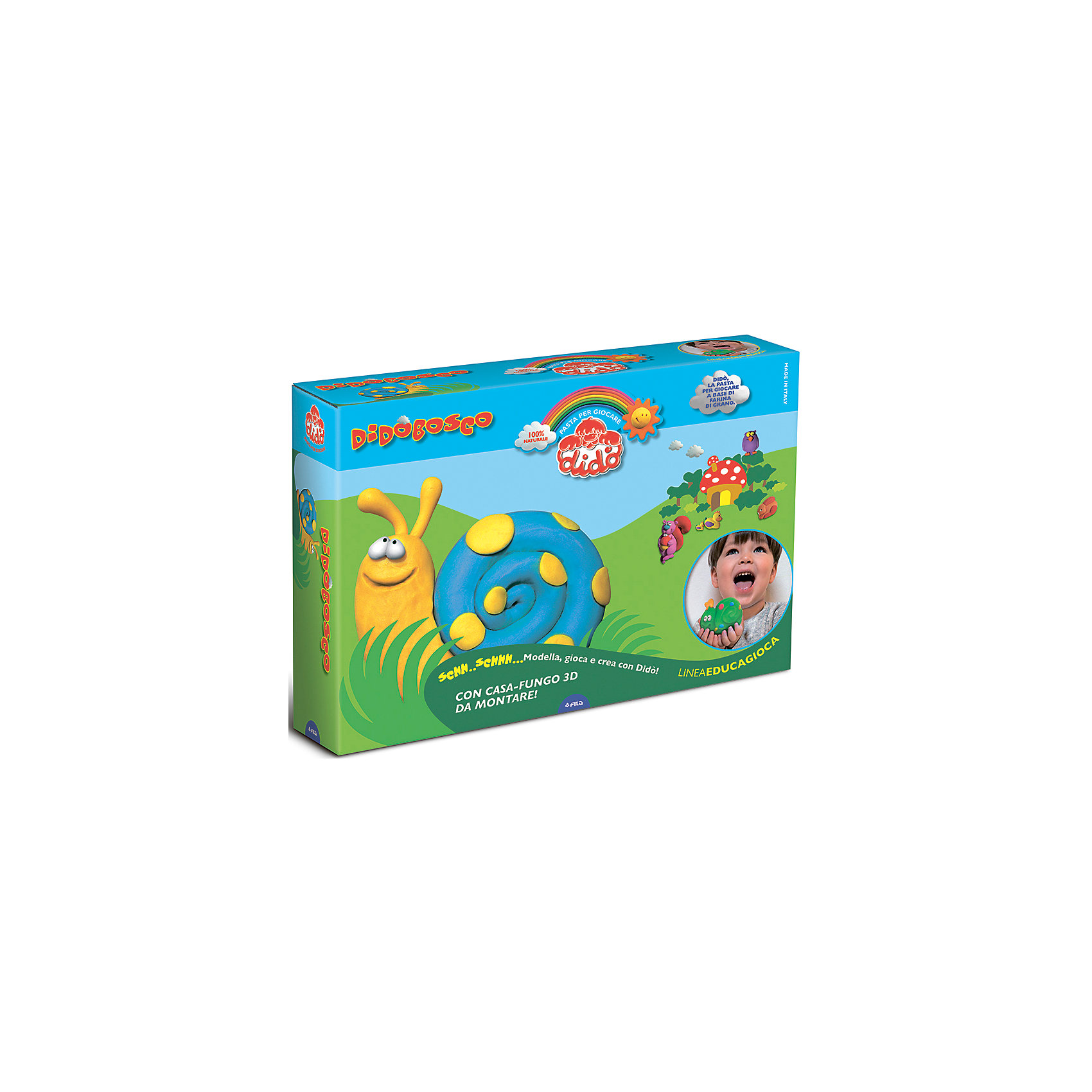 Dido Набор для творчества Веселый лес набор для детского творчества набор веселая кондитерская 1 кг