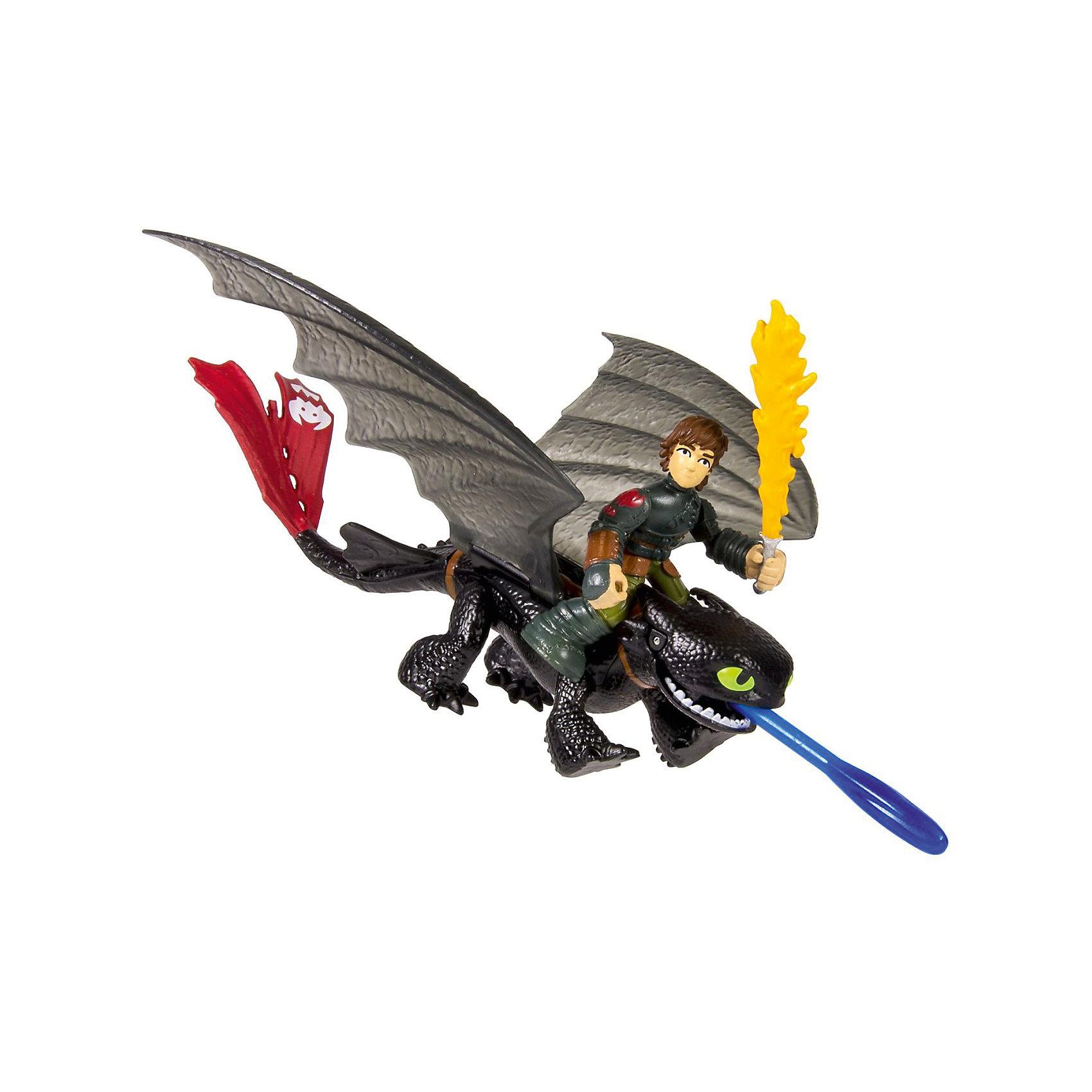 Spin Master Набор Иккинг и всадник, Как приручить дракона, Spin Master spin master большой автомобиль спасателей погрузчик рокки щенячий патруль