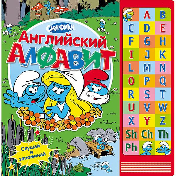 Книга с музыкальным модулем Английский алфавит, СмурфикиИностранный язык<br>Книга с музыкальным модулем Английский алфавит, Смурфики<br><br>Характеристики:<br>- количество страниц: 16<br>- формат: 30 * 1 * 30 см.<br>- Тип обложки: 7Бц – твердая целлофинированная<br>- Иллюстрации: цветные<br>- вес: 768 гр.<br><br>Английская азбука с героями известного мультфильма синими смурфиками сделает изучение нового алфавита еще веселее. Благодаря музыкальному модулю ребенок может изучать буквы и их звучание сам. Интерактивные кнопки научат малыша произносить буквы, а увлекательные задания сделают изучение приятной игрой с любимыми персонажами. Нестандартный подход к изучению алфавита поможет привлечь внимание ребенка и принести больше результатов. <br>Книгу с музыкальным модулем Английский алфавит, Смурфики можно купить в нашем интернет-магазине.<br>Подробнее:<br>• ISBN: 9785353061847<br>• Для детей в возрасте: от 0 до 5 лет<br>• Номер товара: 5109578<br>Страна производитель: Китай<br><br>Ширина мм: 300<br>Глубина мм: 300<br>Высота мм: 10<br>Вес г: 768<br>Возраст от месяцев: 0<br>Возраст до месяцев: 36<br>Пол: Унисекс<br>Возраст: Детский<br>SKU: 5109578