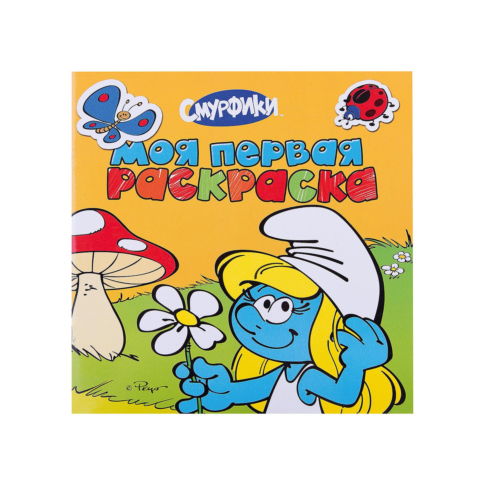 Моя первая раскраска (желтая), СмурфикиМоя первая раскраска (желтая), Смурфики<br><br>Характеристики:<br>- В набор входит: альбом для раскрашивания<br>- количество страниц: 12<br>- формат: 25 * 0,3 * 25 см.<br>- Тип обложки: мягкая<br>- вес: 99 гр.<br>Альбом-раскраска с героями известного мультфильма синими смурфиками сделает рисование еще веселее. Каждая страничка раскраски имеет свою историю, которая произошла в городе Смурфидол. Работая с раскрасками ребенок развивает мелкую моторику, усидчивость, чувство цвета и развивает творческие способности. Также доказано положительное влияние раскрасок на психологическое развитие. Кроме всех полезных свойств раскраски это еще и отличное времяпровождение в компании с любимыми героями и воображением. <br>Альбом Моя первая раскраска (желтая), Смурфики можно купить в нашем интернет-магазине.<br>Подробнее:<br>• ISBN: 9785353062219<br>• Для детей в возрасте: от 0 до 6 лет<br>• Номер товара: 5109585<br>Страна производитель: Российская Федерация<br><br>Ширина мм: 245<br>Глубина мм: 240<br>Высота мм: 3<br>Вес г: 99<br>Возраст от месяцев: 0<br>Возраст до месяцев: 36<br>Пол: Унисекс<br>Возраст: Детский<br>SKU: 5109585