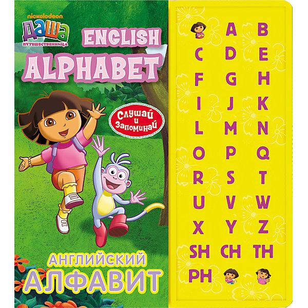 Английский алфавит (33 кнопки), Даша-путешественницаИностранный язык<br>Английский алфавит (33 кнопки), Даша-путешественница<br><br>Характеристики:<br>- количество страниц: 16<br>- формат: 30 * 1 * 26 см.<br>- Тип обложки: 7Бц – твердая целлофинированная<br>- Иллюстрации: цветные<br>- вес: 671 гр.<br><br>Английская азбука с любимой героиней мультсериала Дашей Путешественницей сделает изучение нового алфавита еще веселее. Благодаря музыкальному модулю ребенок может изучать буквы и их звучание сам. Интерактивные кнопки научат малыша произносить буквы, а увлекательные задания сделают изучение приятной игрой с любимыми персонажами. Нестандартный подход к изучению алфавита поможет привлечь внимание ребенка и принести больше результатов. <br>Английский алфавит (33 кнопки), Даша-путешественница можно купить в нашем интернет-магазине.<br>Подробнее:<br>• ISBN: 9785353058922<br>• Для детей в возрасте: от 0 до 5 лет<br>• Номер товара: 5109589<br>Страна производитель: Китай<br><br>Ширина мм: 300<br>Глубина мм: 255<br>Высота мм: 10<br>Вес г: 671<br>Возраст от месяцев: 0<br>Возраст до месяцев: 36<br>Пол: Женский<br>Возраст: Детский<br>SKU: 5109589