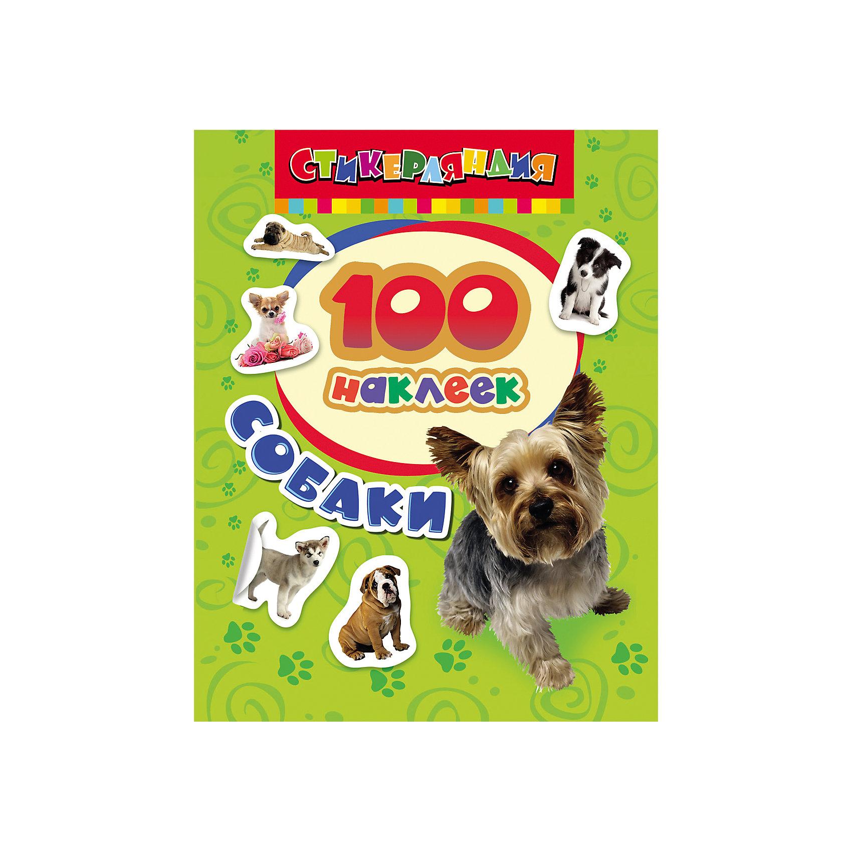 Книга наклеек Стикерляндия— Собаки, 100 наклеекТворчество для малышей<br>Характеристики 100 наклеек.Собаки:<br><br>- возраст: от 3 лет<br>- пол: для мальчиков и девочек<br>- материал: бумага.<br>- количество страниц: 8<br>- размер: 20 * 15 см.<br>- переплет: мягкий.<br>- страна обладатель бренда: Россия.<br><br>Украсить наклейками свои тетради, блокноты, открытки или свою <br>комнату, а еще наклейками можно <br>поделиться с друзьями! Сделай свою жизнь ярче! В набор вошло 100 красочных наклеек с собаками различных пород. Йоркширский терьер, чихуа-хуа, хаски, колли, мопсы и далматинцы - далеко не полный список забавных зверушек, с которыми можно делать все, что угодно! Яркие и красивые наклейки не оставят никого равнодушным! <br><br>100 наклеек.Собаки издательства Росмэн можно купить в нашем интернет-магазине.<br><br>Ширина мм: 200<br>Глубина мм: 150<br>Высота мм: 2<br>Вес г: 36<br>Возраст от месяцев: 36<br>Возраст до месяцев: 72<br>Пол: Унисекс<br>Возраст: Детский<br>SKU: 5109770