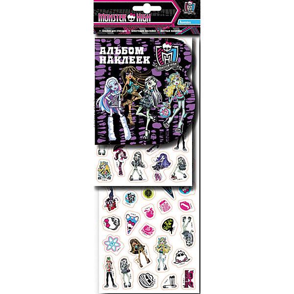 Наклейки 1, Monster HighКнижки с наклейками<br>Характеристики товара:<br><br>- цвет: разноцветный;<br>- материал: бумага;<br>- количество страниц: 8;<br>- формат: 34,5 x 14,5 см;<br>- возраст: 5+;<br>- обложка: мягкая.<br><br>Набор наклеек – отличный подарок для девочек, которые любят персонажей кукол-монстров. В сборнике есть целых 8 листов красочных наклеек с глянцевым или блестящим покрытием! Готовыми картинками можно украсить комнату, тетрадки или блокноты. Стикеры подходят для декорирования любых поверхностей, так как при их удалении не оставляют следов. Все материалы, использованные при производстве издания, соответствуют всем стандартам качества и безопасности. <br><br>Сборник Наклейки 1, Monster High от компании Росмэн можно приобрести в нашем интернет-магазине.<br>Ширина мм: 345; Глубина мм: 125; Высота мм: 2; Вес г: 49; Возраст от месяцев: 60; Возраст до месяцев: 84; Пол: Женский; Возраст: Детский; SKU: 5109856;