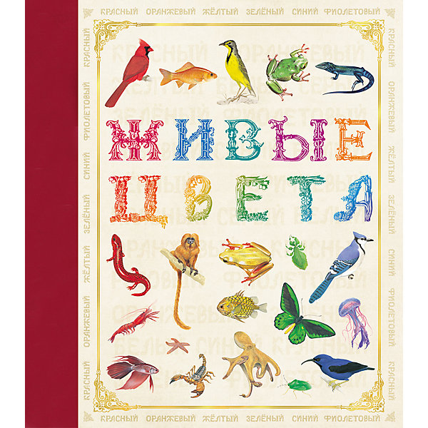 Живые цветаИзучаем цвета и формы<br>Характеристики товара:<br><br>- цвет: разноцветный;<br>- материал: бумага;<br>- страниц: 32;<br>- формат: 24 х 21 см;<br>- обложка: твердая;<br>- цветные иллюстрации.<br><br>Эта интересная книга с иллюстрациями станет отличным подарком для ребенка. Она содержит в себе яркие картинки, которые помогут малышам познакомиться со многими животными, а также пояснения к ним. Плюс - малыш сможет легко освоить разные цвета. В книге - море полезной информации для ребенка!<br>Чтение и рассматривание картинок помогает ребенку развивать зрительную память, концентрацию внимания и воображение. Издание произведено из качественных материалов, которые безопасны даже для самых маленьких.<br><br>Издание Живые цвета от компании Росмэн можно купить в нашем интернет-магазине.<br><br>Ширина мм: 245<br>Глубина мм: 215<br>Высота мм: 7<br>Вес г: 265<br>Возраст от месяцев: 60<br>Возраст до месяцев: 84<br>Пол: Унисекс<br>Возраст: Детский<br>SKU: 5110169