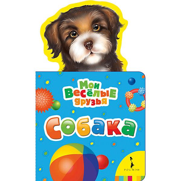 Собака, Мои веселые друзьяПервые книги малыша<br>Характеристики товара:<br><br>- цвет: разноцветный;<br>- материал: картон;<br>- страниц: 12;<br>- формат: 21 х 13 см;<br>- обложка: картон;<br>- с вырубкой. <br><br>Издания серии Мои веселые друзья - отличный способ занять ребенка! Эта красочная книга станет отличным подарком для родителей и малыша. Она содержит в себе рассказ о животных, которых так любят дети. Отличный способ привить малышу любовь к чтению! Удобный формат и плотные странички позволят брать книгу с собой в поездки.<br>Чтение и рассматривание картинок даже в юном возрасте помогает ребенку развивать память, концентрацию внимания и воображение. Издание произведено из качественных материалов, которые безопасны даже для самых маленьких.<br><br>Издание Собака, Мои веселые друзья от компании Росмэн можно купить в нашем интернет-магазине.<br><br>Ширина мм: 205<br>Глубина мм: 125<br>Высота мм: 8<br>Вес г: 80<br>Возраст от месяцев: -2147483648<br>Возраст до месяцев: 2147483647<br>Пол: Унисекс<br>Возраст: Детский<br>SKU: 5110277