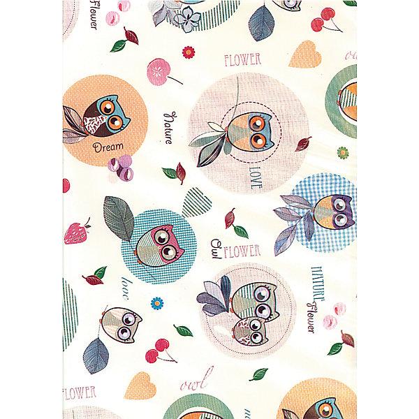 Клеёнка-наматрасник с ПВХ покрытием, Roxy-Kids, совы