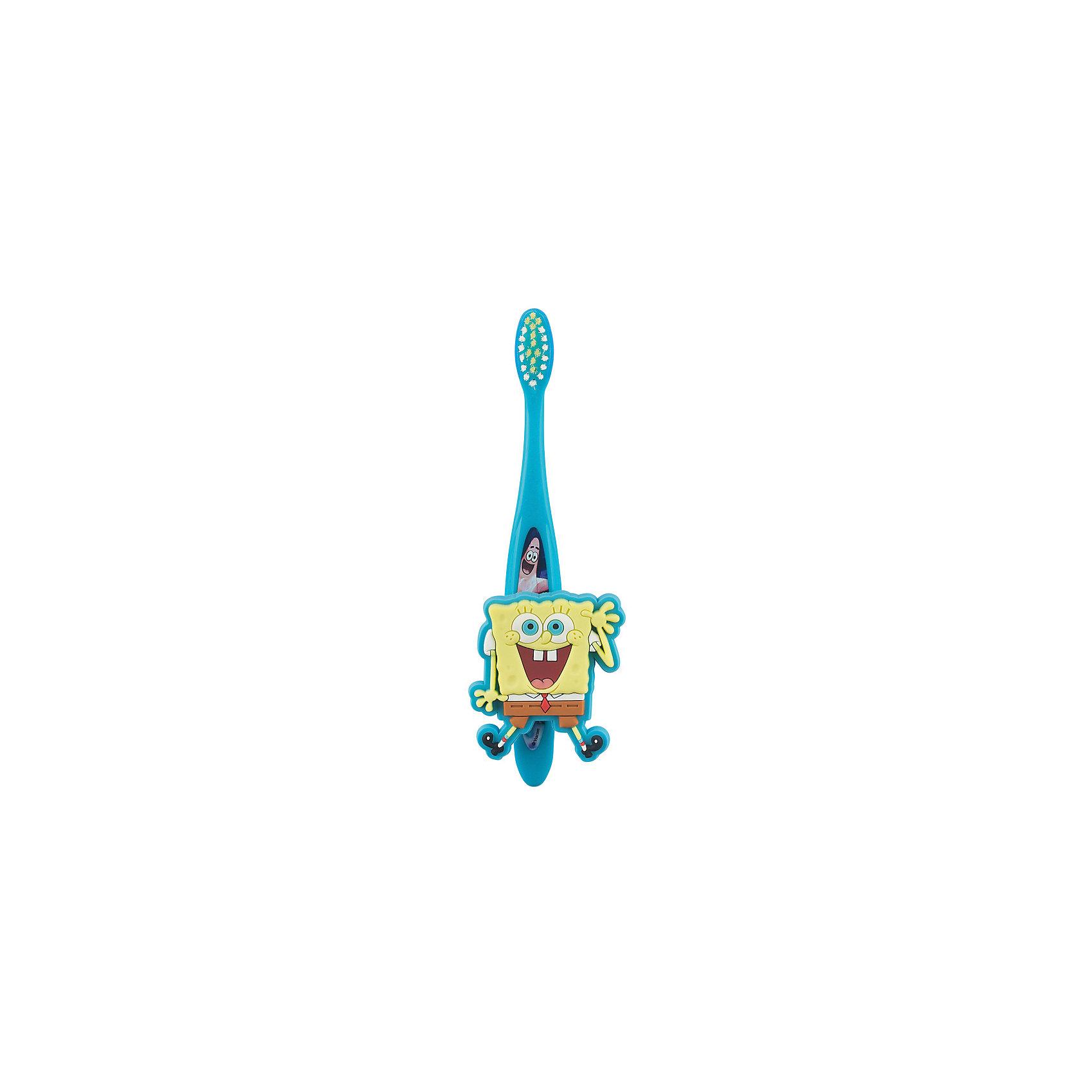Зубная щетка Sponge Bob с настенным держателем, FireflyЗубные щетки<br>Характеристика:<br><br>- Возраст: от 3 лет.<br>- Мягкая щетина.<br>- Цвет: желтый.<br><br>Яркая зубная щетка Sponge Bob стала еще удобнее, теперь ее можно отдельно крепить к стене или раковине!<br><br>Зубную щетку Sponge Bob с настенным держателем, от Firefly, можно купить в нашем магазине.<br><br>Ширина мм: 150<br>Глубина мм: 50<br>Высота мм: 20<br>Вес г: 50<br>Возраст от месяцев: 36<br>Возраст до месяцев: 84<br>Пол: Унисекс<br>Возраст: Детский<br>SKU: 5111429
