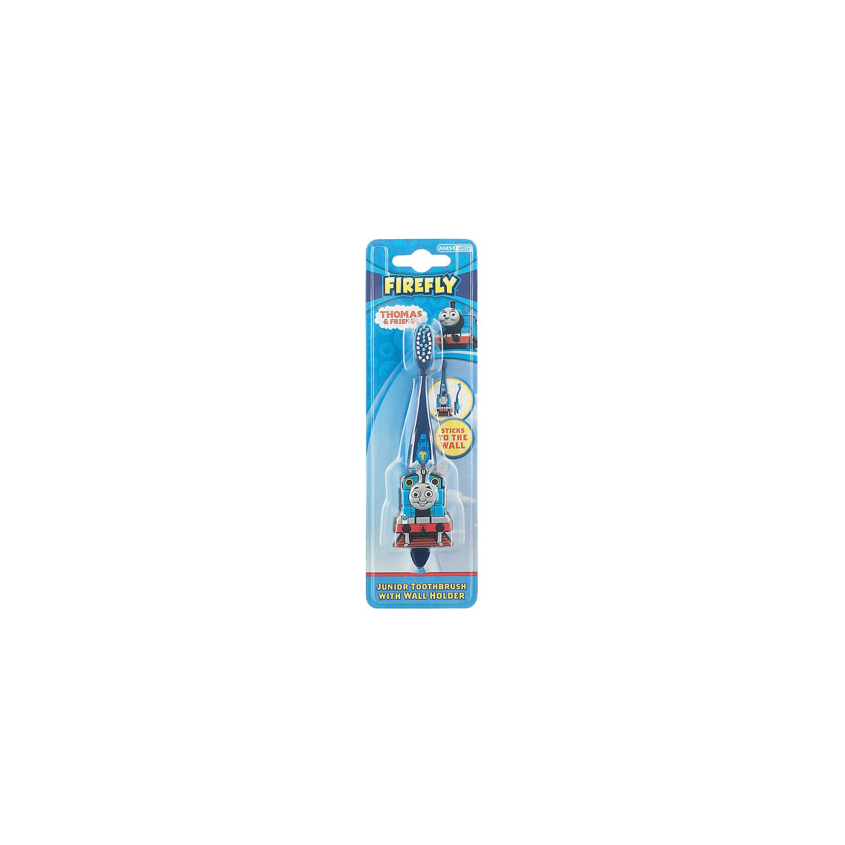 Зубная щетка Паровозик Томас и друзья с настенным держателем, Firefly