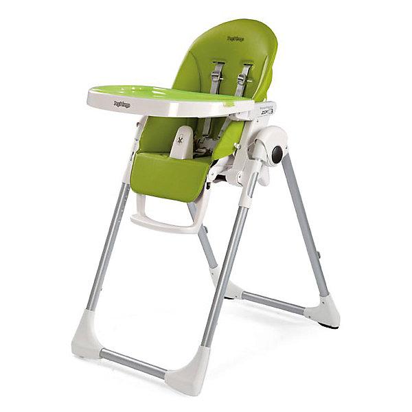Стульчик для кормления  Prima Pappa Zero-3 Mela, Peg Perego, зеленыйСтульчики для кормления<br>Стульчик для кормления  Prima Pappa Zero-3 Mela, Peg Perego, зеленый.<br><br>Очень легкий многофункциональный стульчик, растет вместе с Вашим малышом от 0 до 3-х лет. С рождения можно использовать как удобную расслабляющую колыбельку, а начиная с 6 месяцев как высокий стульчик для кормления и игр. Когда Ваш малыш подрастет, можно использовать стульчик без столика, для того чтобы ребенок мог сидеть за столом вместе с взрослыми. Сидение у стульчика достаточно широкое и глубокое. Безопасность малыша обеспечивается наличием 5-точечных ремней с центральным замком. Между ножек крохи в стульчике для кормления Prima Pappa Zero 3 Пег-Перего имеется специальный пластиковый разделитель, предотвращающий свободное выскальзывание ребенка. Спинка может регулироваться в 5 положениях. Высота кресла имеет 7 позиций. Регулируемая по высоте подножка - 3 положения. Столик в этом стульчике съемный: для удобства его можно прикрепить к задним ножкам. Сверху столика устанавливается поднос, который при необходимости можно помыть в посудомоечной машине. Сиденье стула легко моется, маме нужно будет просто протереть его влажной салфеткой и на нем не останется никаких следов обеда. Предусмотрены удобные кнопки раскрытия-складывания стульчика. Супер компактный и устойчивый стульчик в сложенном виде не будет занимать много места, он стоит без опоры.<br><br>Дополнительная информация:<br><br>- Цвет: зеленый<br>- Покрытие: ПВХ<br>- Размер в сложенном виде: 76 х 30 х 95,5 см.<br>- Размер в разложенном виде: 76 х 55 х 105 см.<br>- Вес: 7,6 кг.<br><br>Стульчик для кормления  Prima Pappa Zero-3 Mela, Peg Perego, зеленый можно купить в нашем интернет-магазине.<br>Ширина мм: 935; Глубина мм: 300; Высота мм: 565; Вес г: 10100; Возраст от месяцев: 0; Возраст до месяцев: 36; Пол: Унисекс; Возраст: Детский; SKU: 5111811;