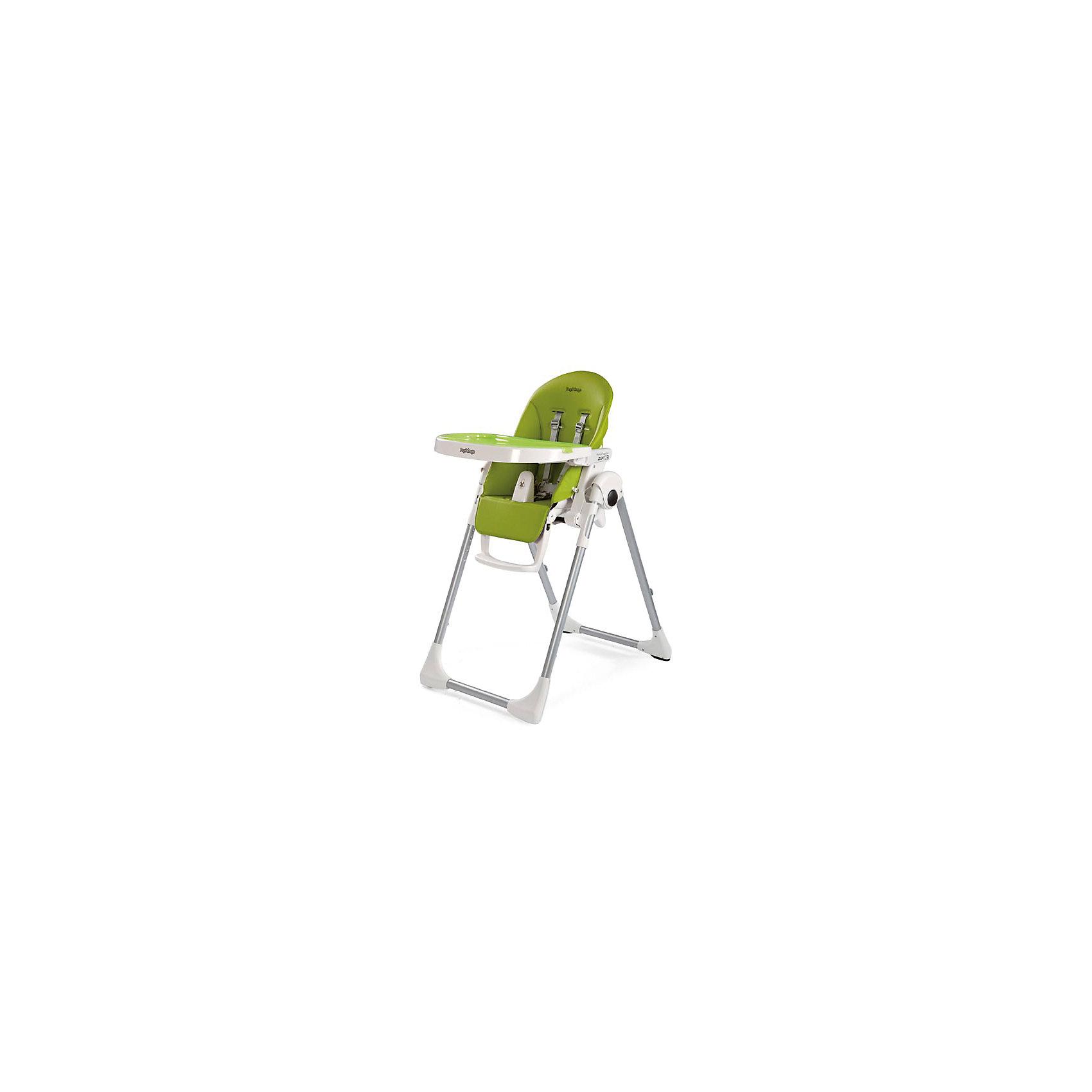 Стульчик для кормления  Prima Pappa Zero-3 Mela, Peg Perego, зеленыйот рождения<br>Стульчик для кормления  Prima Pappa Zero-3 Mela, Peg Perego, зеленый.<br><br>Очень легкий многофункциональный стульчик, растет вместе с Вашим малышом от 0 до 3-х лет. С рождения можно использовать как удобную расслабляющую колыбельку, а начиная с 6 месяцев как высокий стульчик для кормления и игр. Когда Ваш малыш подрастет, можно использовать стульчик без столика, для того чтобы ребенок мог сидеть за столом вместе с взрослыми. Сидение у стульчика достаточно широкое и глубокое. Безопасность малыша обеспечивается наличием 5-точечных ремней с центральным замком. Между ножек крохи в стульчике для кормления Prima Pappa Zero 3 Пег-Перего имеется специальный пластиковый разделитель, предотвращающий свободное выскальзывание ребенка. Спинка может регулироваться в 5 положениях. Высота кресла имеет 7 позиций. Регулируемая по высоте подножка - 3 положения. Столик в этом стульчике съемный: для удобства его можно прикрепить к задним ножкам. Сверху столика устанавливается поднос, который при необходимости можно помыть в посудомоечной машине. Сиденье стула легко моется, маме нужно будет просто протереть его влажной салфеткой и на нем не останется никаких следов обеда. Предусмотрены удобные кнопки раскрытия-складывания стульчика. Супер компактный и устойчивый стульчик в сложенном виде не будет занимать много места, он стоит без опоры.<br><br>Дополнительная информация:<br><br>- Цвет: зеленый<br>- Покрытие: ПВХ<br>- Размер в сложенном виде: 76 х 30 х 95,5 см.<br>- Размер в разложенном виде: 76 х 55 х 105 см.<br>- Вес: 7,6 кг.<br><br>Стульчик для кормления  Prima Pappa Zero-3 Mela, Peg Perego, зеленый можно купить в нашем интернет-магазине.<br><br>Ширина мм: 935<br>Глубина мм: 300<br>Высота мм: 565<br>Вес г: 10100<br>Возраст от месяцев: 0<br>Возраст до месяцев: 36<br>Пол: Унисекс<br>Возраст: Детский<br>SKU: 5111811