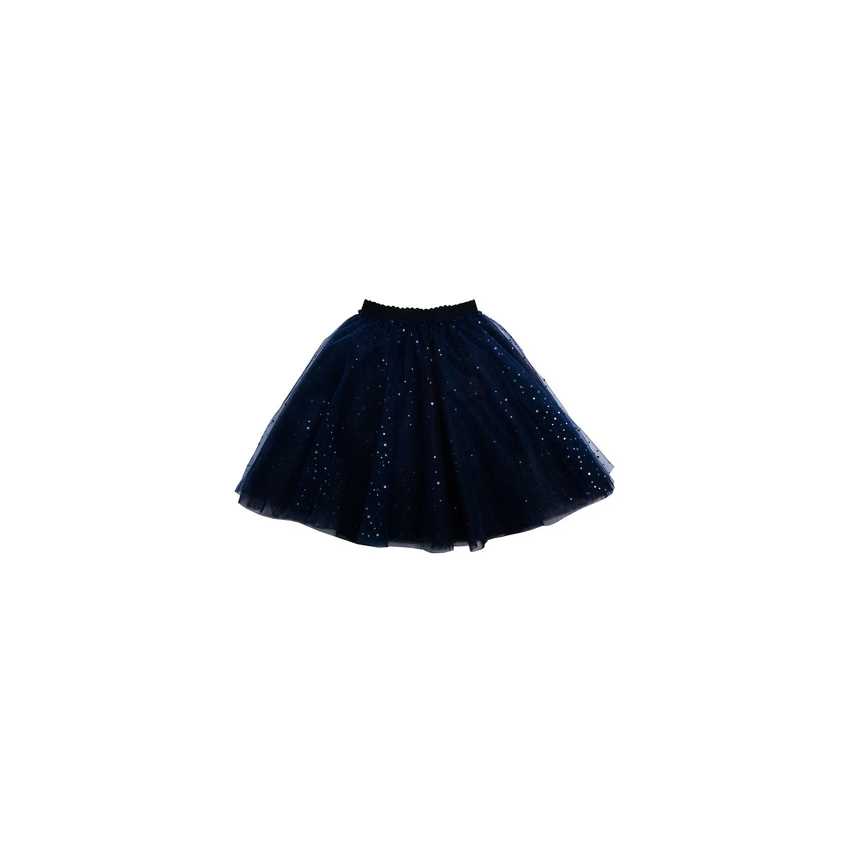Юбка для девочки PlayTodayЮбки<br>Юбка для девочки от известного бренда PlayToday.<br>Пышная юбка-пачка.<br><br>Выполнена из легкого сетчатого материала. Хлопковая подкладка обеспечивает максимальное удобство, пояс на мягкой резинке. Украшена россыпью сверкающих пайеток.<br>Состав:<br>Верх: 100% полиэстер, Подкладка: 100% хлопок<br><br>Ширина мм: 207<br>Глубина мм: 10<br>Высота мм: 189<br>Вес г: 183<br>Цвет: синий<br>Возраст от месяцев: 36<br>Возраст до месяцев: 48<br>Пол: Женский<br>Возраст: Детский<br>Размер: 104,122,128,116,98,110<br>SKU: 5113840
