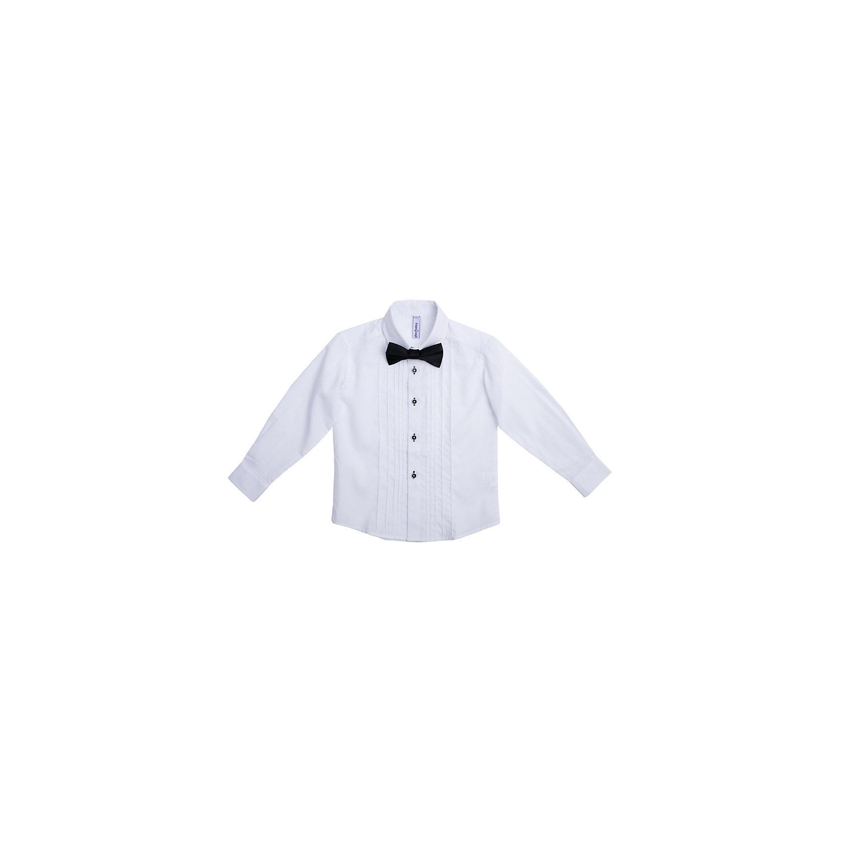 Рубашка для мальчика PlayTodayРубашка для мальчика от известного бренда PlayToday.<br>Нарядная белая сорочка.<br><br>Классическая модель: отложной воротник, аккуратные рукава с усеченными углами, полупрозрачные пуговицы. Контрастная отделка петель придает оригинальности. <br><br>Сорочка украшена декоративными вертикальными швами по линии планки. Дополнена атласным галстуком-бабочкой.<br>Состав:<br>67% полиэстер, 30% хлопок, 3% эластан<br><br>Ширина мм: 174<br>Глубина мм: 10<br>Высота мм: 169<br>Вес г: 157<br>Цвет: синий<br>Возраст от месяцев: 36<br>Возраст до месяцев: 48<br>Пол: Мужской<br>Возраст: Детский<br>Размер: 104,98,122,116,110,128<br>SKU: 5113941