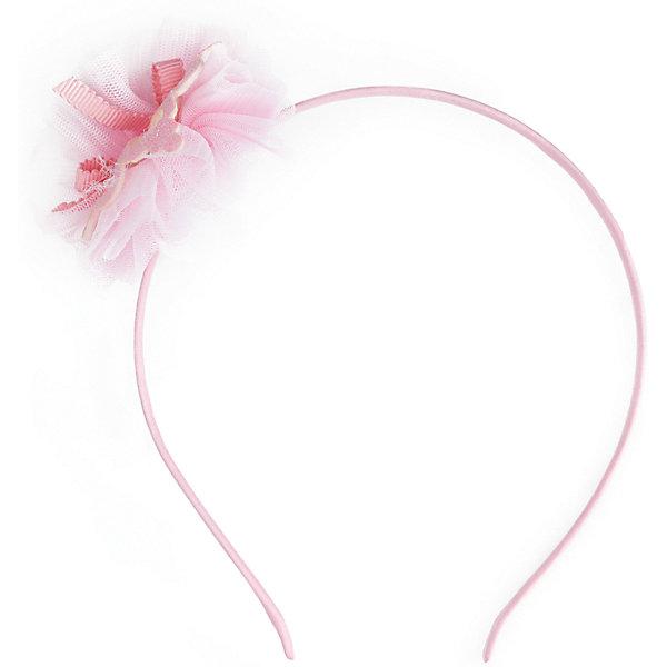 Ободок для волос для девочки PlayTodayАксессуары<br>Ободок для волос для девочки от известного бренда PlayToday.<br>Ободок для волос.<br><br>Украшен объемным цветком. Дополнит стильный образ.<br>Состав:<br>50%металл,50%полиэстер<br>Ширина мм: 170; Глубина мм: 157; Высота мм: 67; Вес г: 117; Цвет: розовый; Возраст от месяцев: 36; Возраст до месяцев: 96; Пол: Женский; Возраст: Детский; Размер: one size; SKU: 5114039;