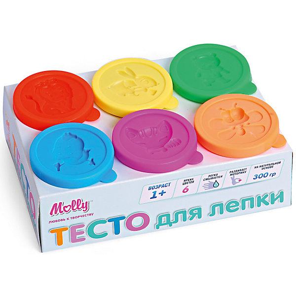 Тесто для лепки 6 цветов по 50 гТесто для лепки<br>Безопасное Тесто для самых маленьких (состав :пшеничная мука крахмал), вода, соль, пищевая добавка, пищевая краситель). Легко смывается, развивает мелкую моторику. В наборе: 6 разных цветов по 50 гр.<br>Ширина мм: 16; Глубина мм: 10; Высота мм: 5; Вес г: 300; Возраст от месяцев: 12; Возраст до месяцев: 60; Пол: Унисекс; Возраст: Детский; SKU: 5115168;