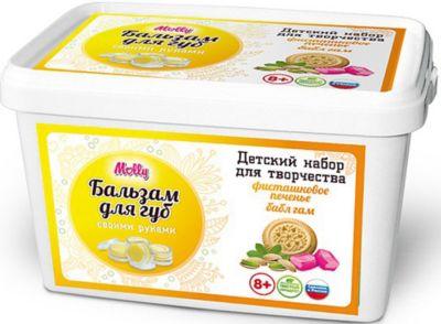 Molly Бальзам Для Губ Фисташковое Печенье-Бабл Гам фото-1