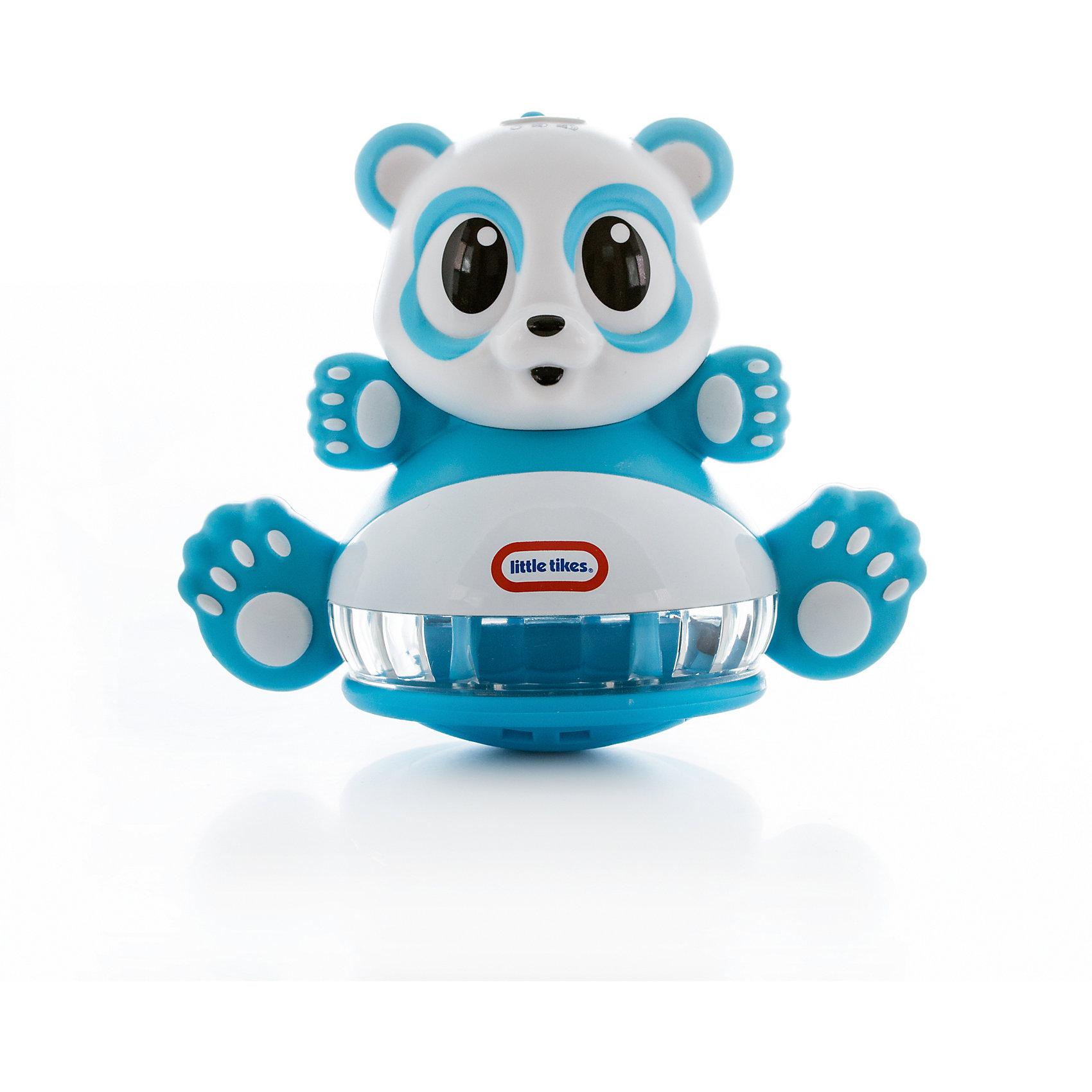 Развивающая неваляшка Панда со световыми эффектами, Little TikesХарактеристики товара:<br><br>- цвет: разноцветный;<br>- материал: пластик; <br>- габариты упаковки: 16х21х12 см;<br>- вес: 475 г;<br>- возраст: 6+ месяцев.<br><br>Интерактивные игрушки – прекрасный помощник при развитии малыша. При раскачивании неваляшки малыш услышит разные звуки, которые будут меняться при изменении траектории движения неваляшки. В панде встроено 6 веселых мелодий. Игрушка развлечет малыша и познакомит ребенка с причинно-следственной связью. Материалы, использованные при изготовлении изделия, абсолютно безопасны и полностью отвечают международным требованиям по качеству детских товаров.<br><br>Игрушку Развивающая неваляшка Панда со световыми эффектами от бренда Little Tikes можно купить в нашем интернет-магазине.<br><br>Ширина мм: 180<br>Глубина мм: 210<br>Высота мм: 120<br>Вес г: 475<br>Возраст от месяцев: 6<br>Возраст до месяцев: 2147483647<br>Пол: Унисекс<br>Возраст: Детский<br>SKU: 5115462