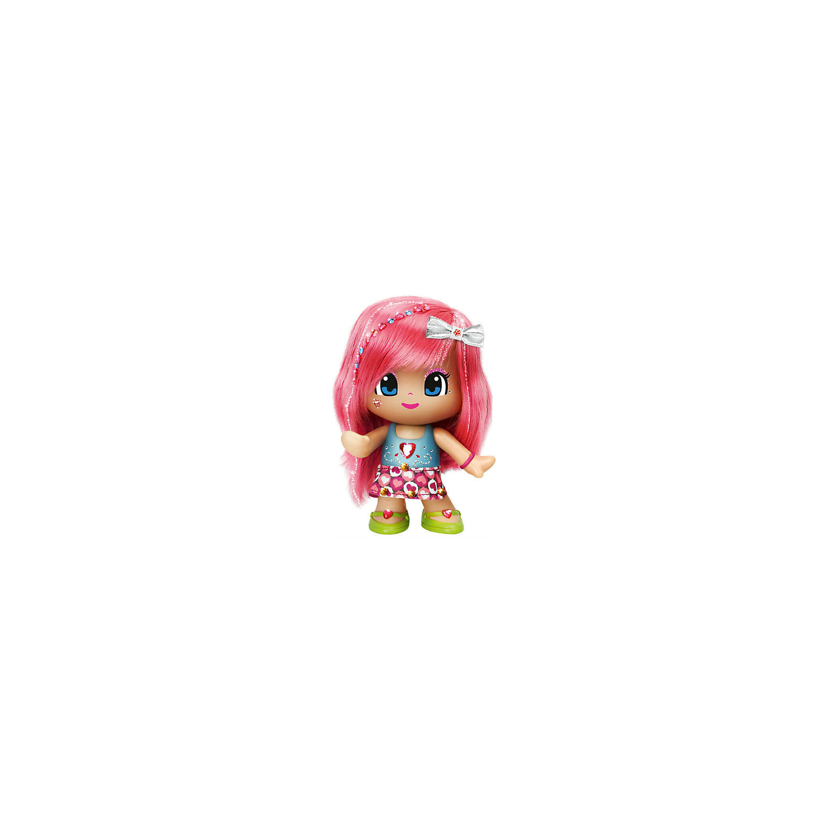 Famosa Кукла Пинипон с розовыми волосами Макияж и модная прическа, Famosa куклы gulliver кукла дынька 30см