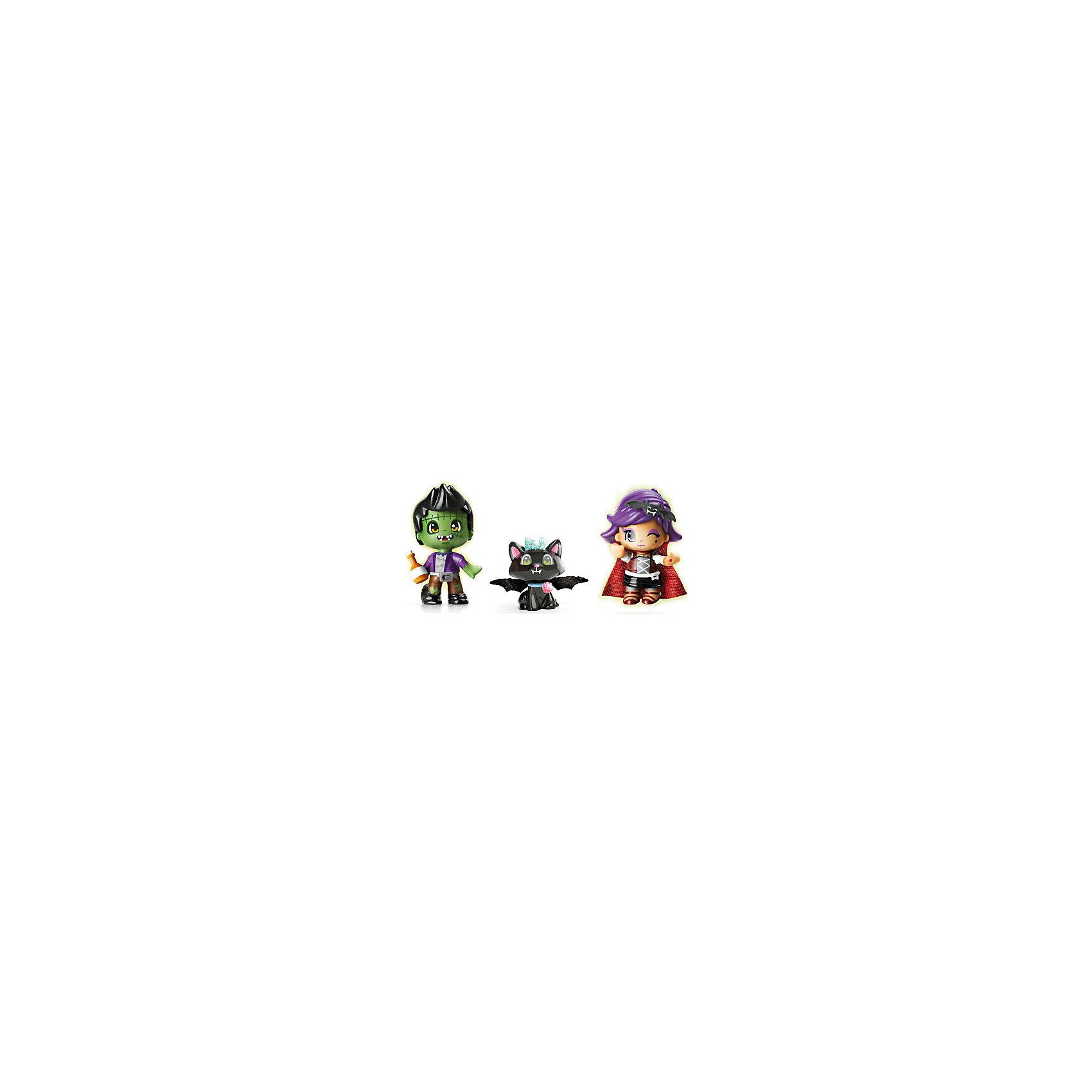 Famosa Игровой набор Пинипон, серия Monster, Famosa набор 2 кукол famosa пинипон чемпионы аксесс 2 в ассорт