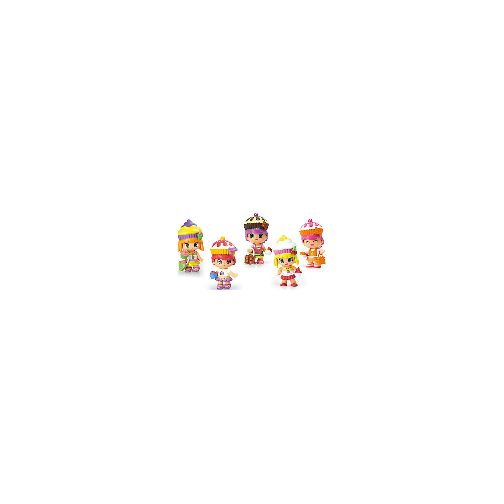 Famosa Игровой набор Пинипон Веселые пирожные, Famosa аксессуары veld co набор переводных татуировок черепа