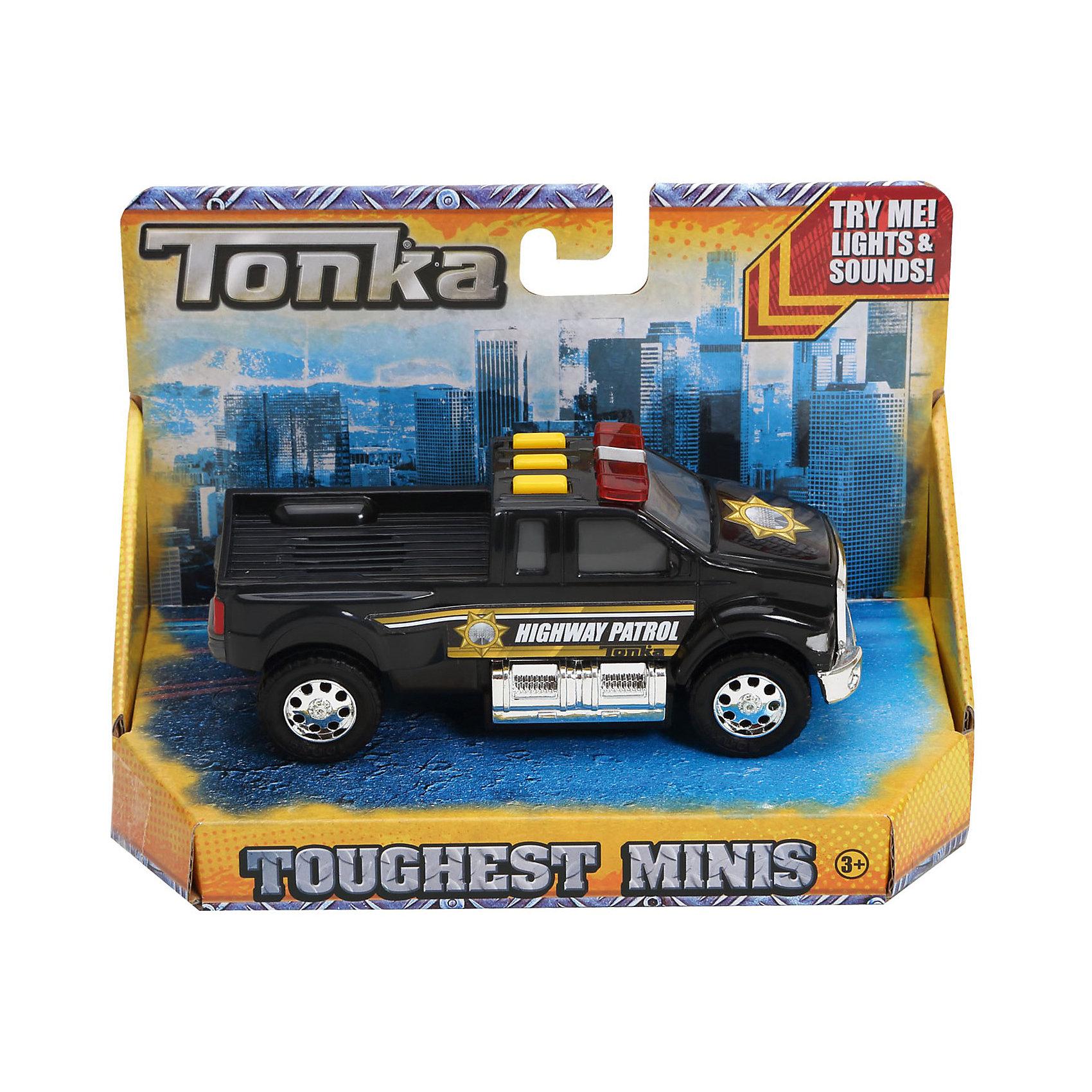 - Полицейская машинка Minis, со светом и звуком, Tonka медицинская машинка minis со светом и звуком tonka