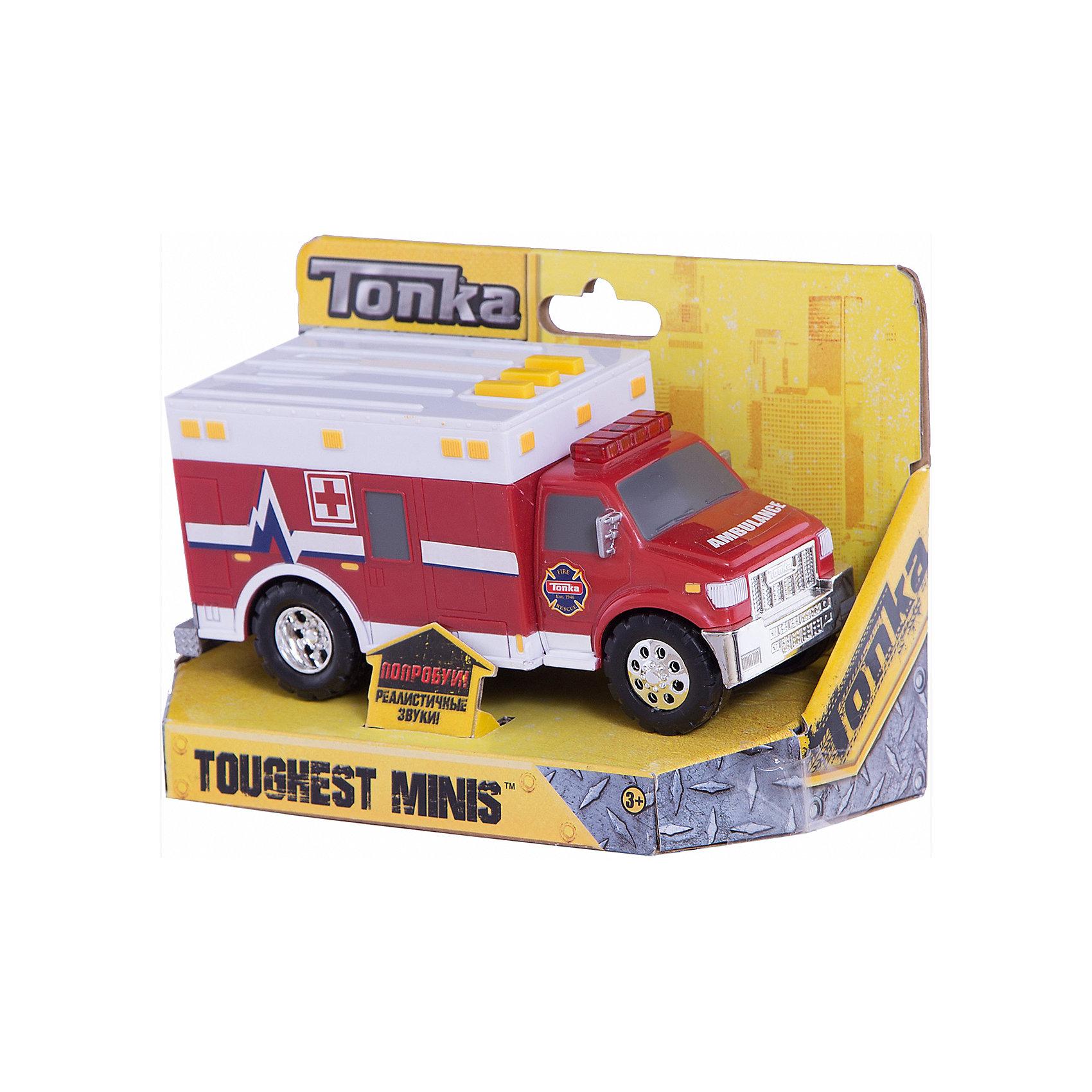 - Медицинская машинка Minis, со светом и звуком, Tonka медицинская машинка minis со светом и звуком tonka