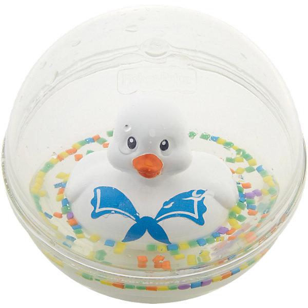 Развивающая игрушка Уточка с плавающими шариками, белая, Fisher PriceИгрушки для купания<br>Характеристики товара:<br><br>• возраст от 3 месяцев;<br>• материал: пластик;<br>• диаметр 8,5 см;<br>• размер упаковки 16х13,5х10 см;<br>• вес упаковки 300 гр.;<br>• страна производитель: Китай.<br><br>Развивающая игрушка Уточка с плавающими шариками Fisher Price белая сделает купание малыша или игру дома забавными и увлекательными. Игрушка выполнена в виде прозрачного шарика с плавающей внутри уточкой, который малыш может толкать, переворачивать, катать. Внутри шарика разноцветные детали, похожие на конфетти. В процессе игры у малыша развиваются мелкая моторика рук, тактильные ощущения, зрительное восприятие.<br><br>Развивающую игрушку Уточка с плавающими шариками Fisher Price белую можно приобрести в нашем интернет-магазине.<br><br>Ширина мм: 166<br>Глубина мм: 101<br>Высота мм: 137<br>Вес г: 235<br>Возраст от месяцев: 3<br>Возраст до месяцев: 24<br>Пол: Унисекс<br>Возраст: Детский<br>SKU: 5117320
