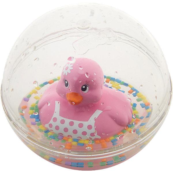 Развивающая игрушка Уточка с плавающими шариками, розовая, Fisher PriceИгрушки для купания<br>Характеристики товара:<br><br>• возраст от 3 месяцев;<br>• материал: пластик;<br>• диаметр 8,5 см;<br>• размер упаковки 16х13,5х10 см;<br>• вес упаковки 300 гр.;<br>• страна производитель: Китай.<br><br>Развивающая игрушка Уточка с плавающими шариками Fisher Price розовая сделает купание малыша или игру дома забавными и увлекательными. Игрушка выполнена в виде прозрачного шарика с плавающей внутри уточкой, который малыш может толкать, переворачивать, катать. Внутри шарика разноцветные детали, похожие на конфетти. В процессе игры у малыша развиваются мелкая моторика рук, тактильные ощущения, зрительное восприятие.<br><br>Развивающую игрушку Уточка с плавающими шариками Fisher Price розовую можно приобрести в нашем интернет-магазине.<br><br>Ширина мм: 140<br>Глубина мм: 103<br>Высота мм: 165<br>Вес г: 240<br>Возраст от месяцев: 3<br>Возраст до месяцев: 24<br>Пол: Женский<br>Возраст: Детский<br>SKU: 5117325