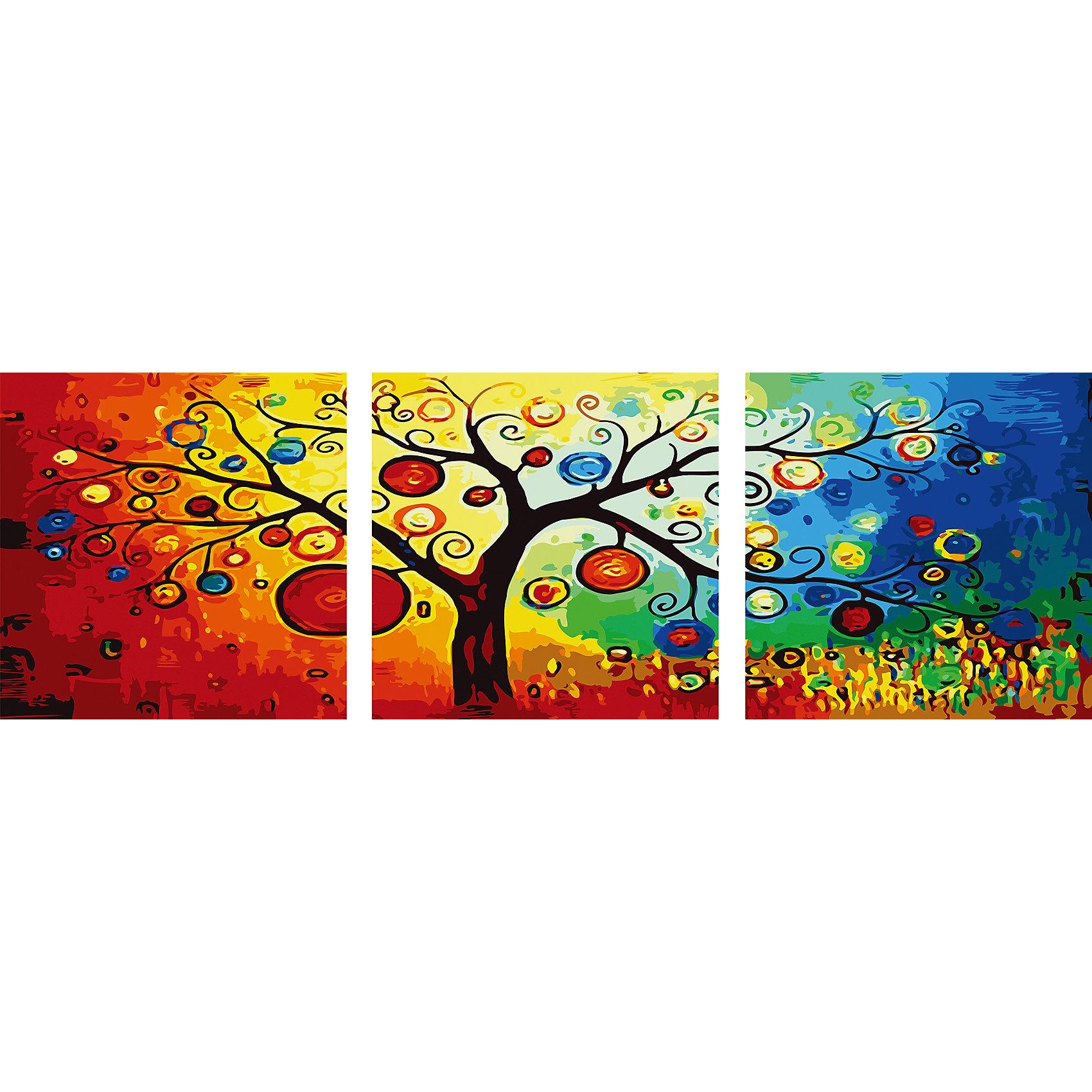 Роспись по номерам, триптих Древо 50*50 см (3 картины в наборе)Рисование<br>Роспись по номерам, триптих Древо 50*50 см (3 картины в наборе)<br><br>В набор входит:<br>-3 холста с нанесенным, пронумерованным рисунком<br>-набор акриловых красок на водяной основе<br>-3 кисточки для рисования<br>-крепление для подвешивания картины<br>-запасной чистый лист<br>-инструкция<br><br>Характеристика:<br>-Размер: 50х50 см<br>-Изображение: дерево<br><br> Роспись по номерам, триптих Древо 50*50 см (3 картины в наборе) - это интересное решение для украшения вашего интерьера. Вы можете написать картину сами без всяких затруднений, благодаря нумеровке, которая подскажет вам, что и каким цветом раскрашивать. Нарисовав картину, вы сможете повесить её в любое место с помощью крепления, прилагающемуся вместе с картинами. Благодаря качеству акриловых красок, ваша картина не потускнеет со временем и будет радовать вас долгое время.<br><br>Роспись по номерам, триптих Древо 50*50 см (3 картины в наборе) можно приобрести в нашем интернет-магазине.<br><br>Ширина мм: 520<br>Глубина мм: 520<br>Высота мм: 50<br>Вес г: 900<br>Возраст от месяцев: 36<br>Возраст до месяцев: 2147483647<br>Пол: Унисекс<br>Возраст: Детский<br>SKU: 5117347