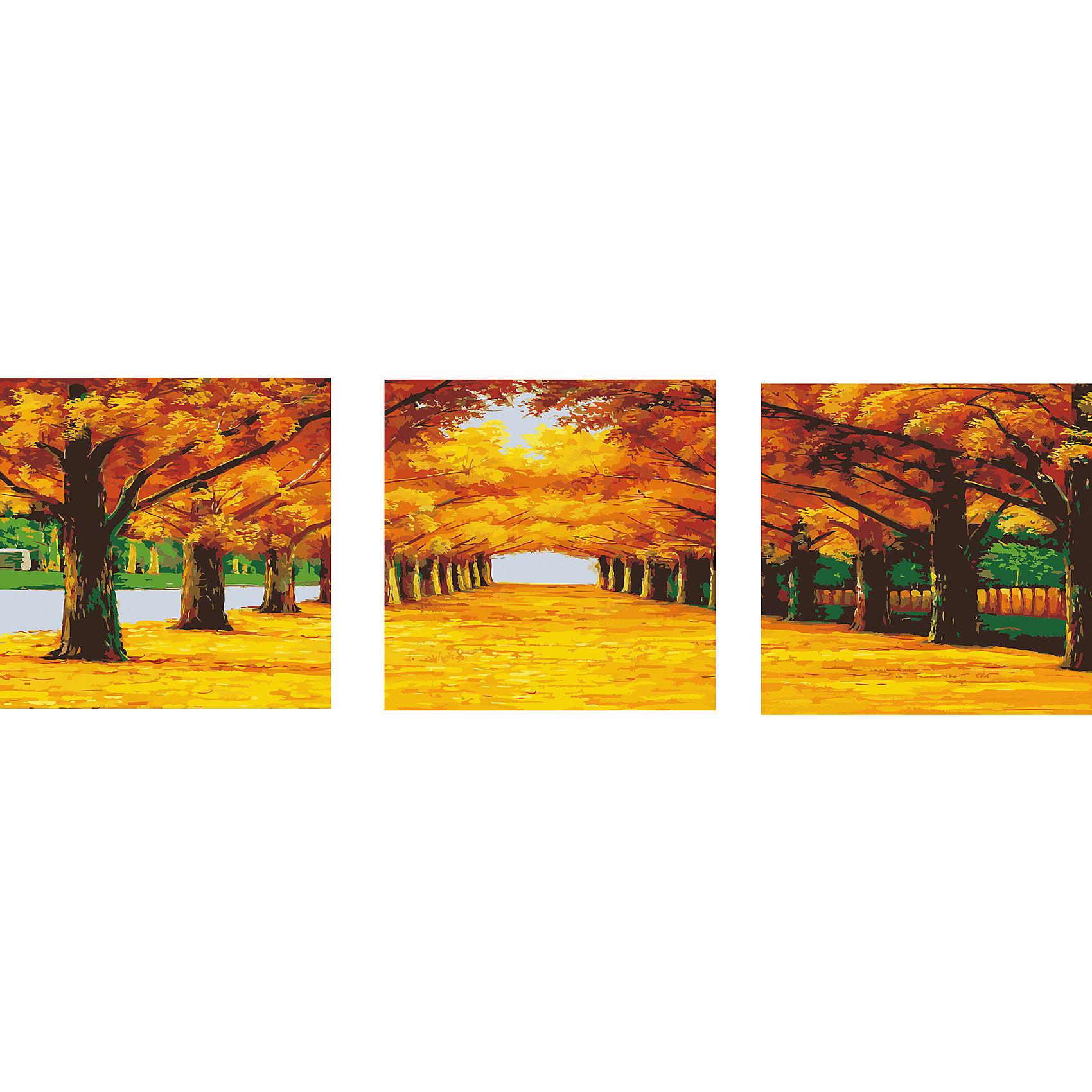 Роспись по номерам, триптих Осенняя аллея 50*50 см (3 картины в наборе)Последняя цена<br>Роспись по номерам, триптих Осенняя аллея 50*50 см (3 картины в наборе)<br><br>В набор входит:<br>-3 холста с нанесенным, пронумерованным рисунком<br>-набор акриловых красок на водяной основе<br>-3 кисточки для рисования<br>-крепление для подвешивания картины<br>-запасной чистый лист<br>-инструкция<br><br>Характеристика:<br>-Размер: 50х50 см<br>-Изображение: осенняя аллея<br><br> Роспись по номерам, триптих Осенняя аллея 50*50 см (3 картины в наборе) - это интересное решение для украшения вашего интерьера. Вы можете написать картину сами без всяких затруднений, благодаря нумеровке, которая подскажет вам, что и каким цветом раскрашивать. Нарисовав картину, вы сможете повесить её в любое место с помощью крепления, прилагающемуся вместе с картинами. Благодаря качеству акриловых красок, ваша картина не потускнеет со временем и будет радовать вас долгое время.<br><br>Роспись по номерам, триптих Осенняя аллея 50*50 см (3 картины в наборе) можно приобрести в нашем интернет-магазине.<br><br>Ширина мм: 520<br>Глубина мм: 520<br>Высота мм: 50<br>Вес г: 900<br>Возраст от месяцев: 36<br>Возраст до месяцев: 2147483647<br>Пол: Унисекс<br>Возраст: Детский<br>SKU: 5117348