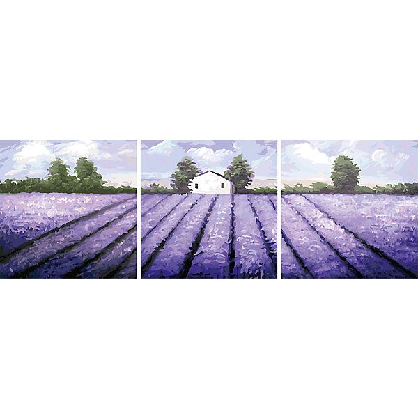 Роспись по номерам, триптих Лавандовое поле 50*50 см (3 картины в наборе)Последняя цена<br>Роспись по номерам, триптих Лавандовое поле 50*50 см (3 картины в наборе)<br>В набор входит:<br>-3 холста с нанесенным, пронумерованным рисунком<br>-набор акриловых красок на водяной основе<br>-3 кисточки для рисования<br>-крепление для подвешивания картины<br>-запасной чистый лист<br>-инструкция<br><br>Характеристика:<br>-Размер: 50х50 см<br>-Изображение: лавандовое поле<br><br>С помощью росписи по номерам, триптих Парк 50*50 см (3 картины в наборе) вы можете написать картину сами без всяких затруднений. Нумеровка подскажет вам, что и каким цветом раскрашивать. Нарисовав картину, вы сможете повесить её в любое место с помощью крепления, прилагающемуся вместе с картинами. Благодаря качеству акриловых красок, ваша картина не потускнеет со временем и будет радовать вас долгое время.<br>Роспись по номерам, триптих Лавандовое поле 50*50 см (3 картины в наборе) можно приобрести в нашем интернет-магазине.<br><br>Ширина мм: 520<br>Глубина мм: 520<br>Высота мм: 50<br>Вес г: 900<br>Возраст от месяцев: 36<br>Возраст до месяцев: 2147483647<br>Пол: Унисекс<br>Возраст: Детский<br>SKU: 5117351