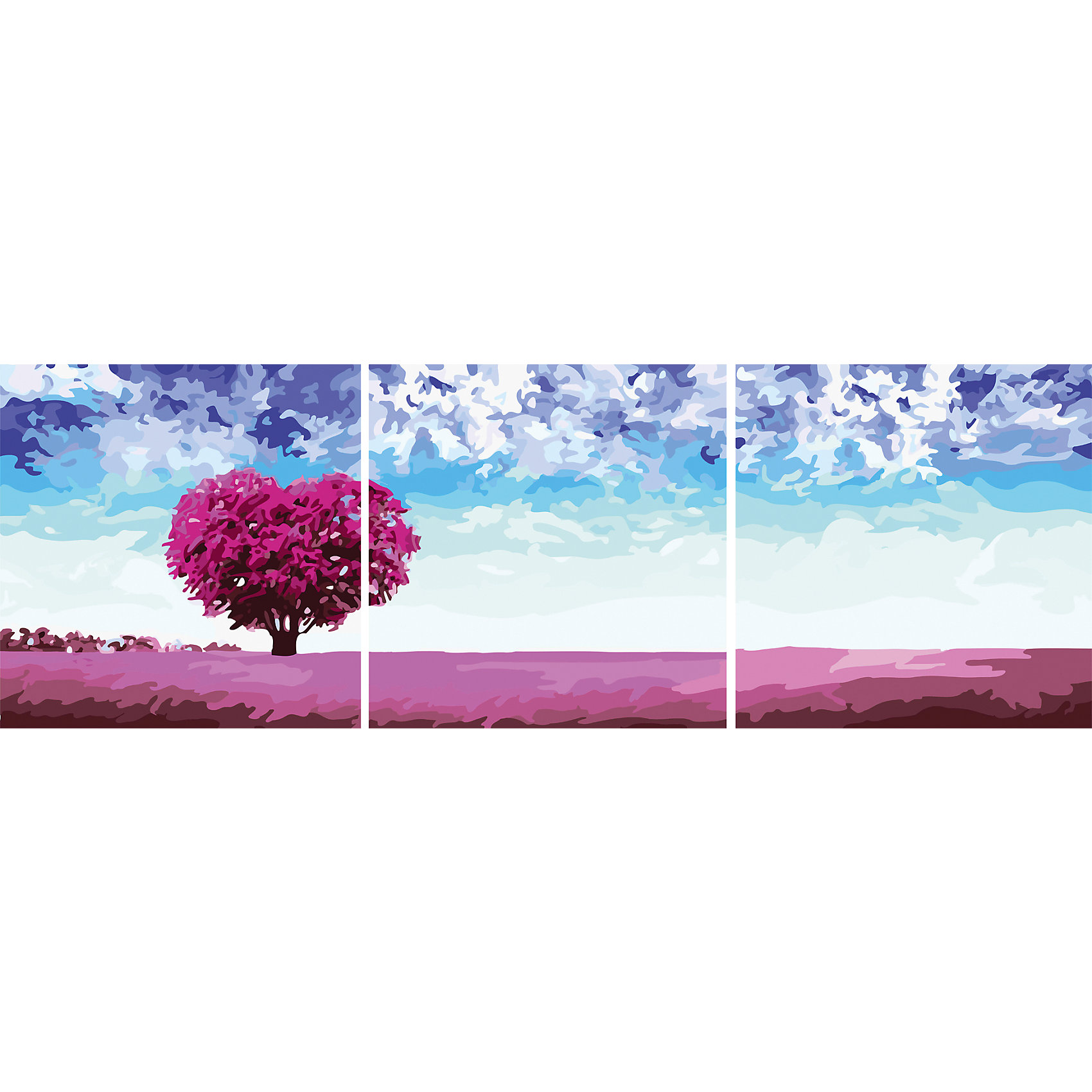 Роспись по номерам, триптих Пейзаж 50*50 см (3 картины в наборе)Роспись по номерам, триптих Пейзаж 50*50 см (3 картины в наборе)<br> <br> <br><br>В набор входит:<br>-3 холста с нанесенным, пронумерованным рисунком<br>-набор акриловых красок на водяной основе<br>-3 кисточки для рисования<br>-крепление для подвешивания картины<br>-запасной чистый лист<br>-инструкция<br><br>Характеристика:<br>-Размер: 50х50 см<br>-Изображение: пейзаж<br><br>Роспись по номерам, триптих Пейзаж 50*50 см (3 картины в наборе) - это интересное решение для украшения вашего интерьера. К рисованию можно приобщить и детей. Благодаря нумеровке на холсте, у ребёнка не возникнет особых затруднений, особенно с вашей помощью. Нарисовав картину, вы сможете повесить её в любое место с помощью крепления, прилагающемуся вместе с картинами. Благодаря качеству акриловых красок, ваша картина не потускнеет со временем и будет радовать вас долгое время.<br><br>Роспись по номерам, триптих Пейзаж 50*50 см (3 картины в наборе) можно приобрести в нашем интернет-магазине.<br><br>Ширина мм: 520<br>Глубина мм: 520<br>Высота мм: 50<br>Вес г: 900<br>Возраст от месяцев: 36<br>Возраст до месяцев: 2147483647<br>Пол: Унисекс<br>Возраст: Детский<br>SKU: 5117355
