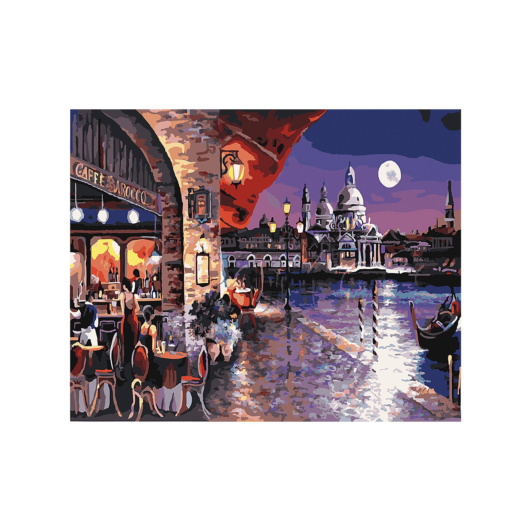 TUKZAR Роспись по номерам Вечерняя набережная 40*50 см наборы для рисования цветной картины по номерам вечерняя набережная