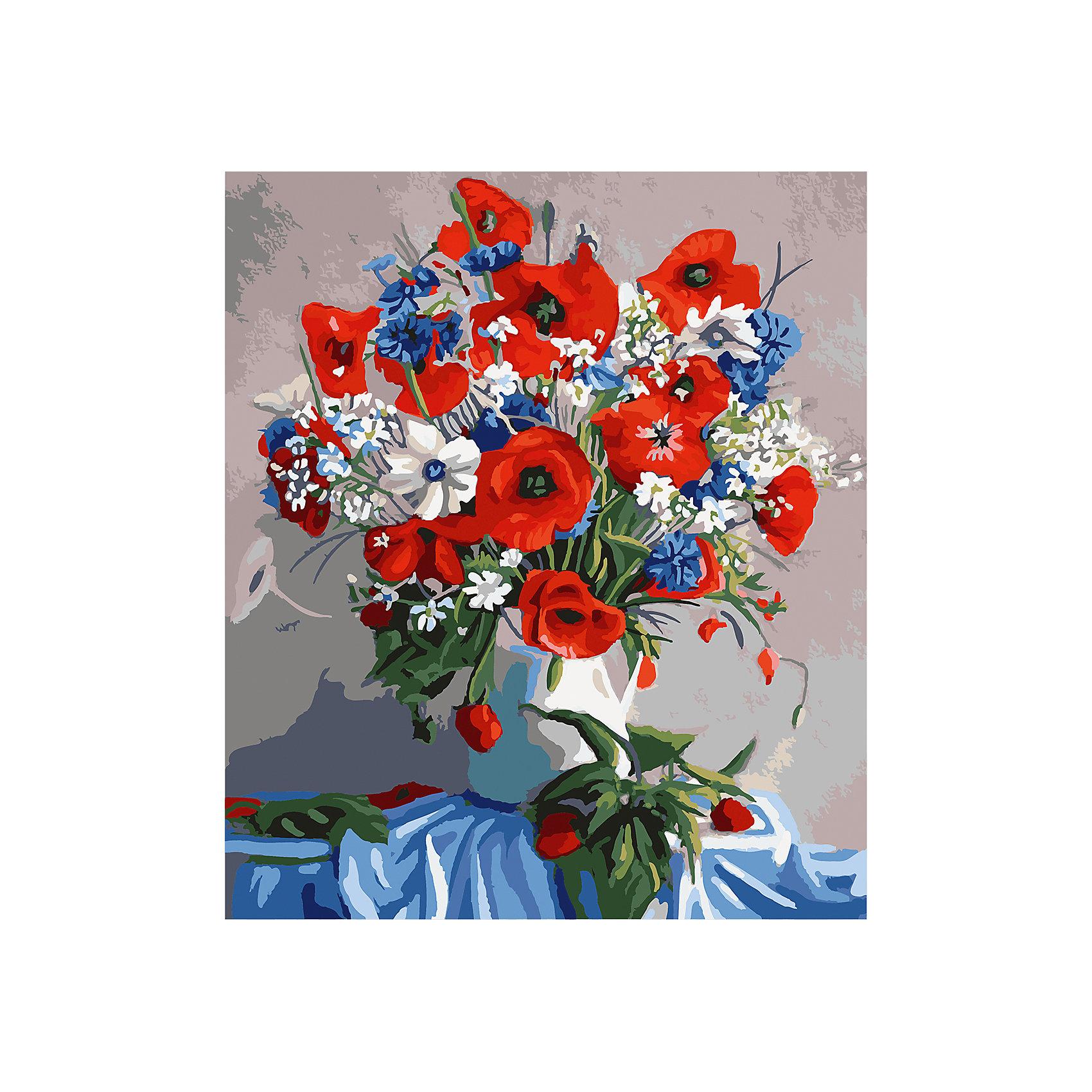 TUKZAR Роспись по номерам Букет 40*50 см наборы для рисования цветной картины по номерам букет розовых цветов