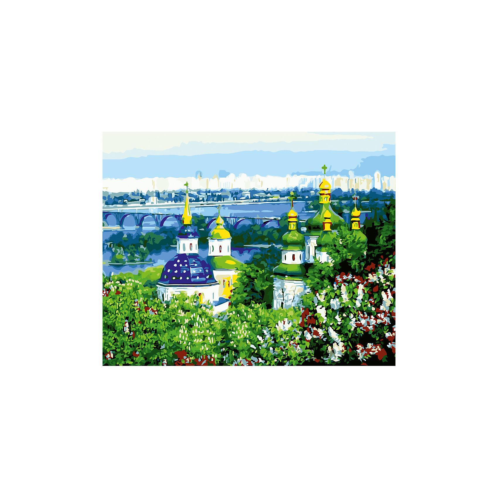 Роспись по номерам Церкви и город 40*50 смРисование<br>Характеристики товара:<br><br>- цвет: разноцветный;<br>- материал: бумага, акрил;<br>- комплектация: холст на подрамнике, кисти, краски, контрольный рисунок, инструкция;<br>- размер картины: 40х50 см;<br>- размер упаковки: 42х52х3 см.<br><br>Этот набор для рисования станет отличным подарком и для ребенка, и для взрослого. Он помогает развить художественные навыки, поверить в свои силы, а в итоге работы получается произведение искусства, которое может украсить интерьер!<br>Основа комплекта - это полотно на подрамнике размером 40 на 50 сантиметров, на которое нанесены контуры рисунка, а участки пронумерованы. Каждому номеру соответствует баночка с краской определенного оттенка. Для удобного нанесения акриловых красок на водной основе в наборе есть три разные кисти, с их помощью даже мелкие детали можно аккуратно и красиво прорисовать. Чтобы контролировать процесс, можно сверяться с контрольным рисунком, на котором изображена готовая картина.<br>Роспись по такой схеме помогает развивать зрительную память, концентрацию внимания, мелкую моторику и цветовосприятие.<br><br>Роспись по номерам Церкви и город 40*50 см можно купить в нашем интернет-магазине.<br><br>Ширина мм: 420<br>Глубина мм: 520<br>Высота мм: 50<br>Вес г: 900<br>Возраст от месяцев: 36<br>Возраст до месяцев: 2147483647<br>Пол: Унисекс<br>Возраст: Детский<br>SKU: 5117382