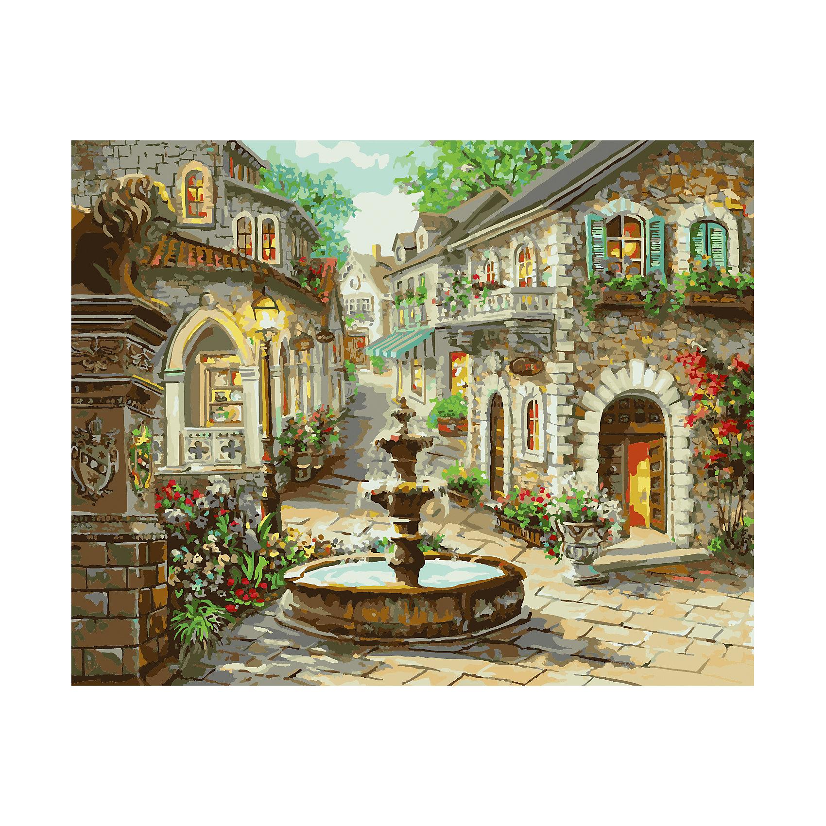TUKZAR Роспись по номерам Каменный фонтан 0*50 см купить шоколадный фонтан в самаре