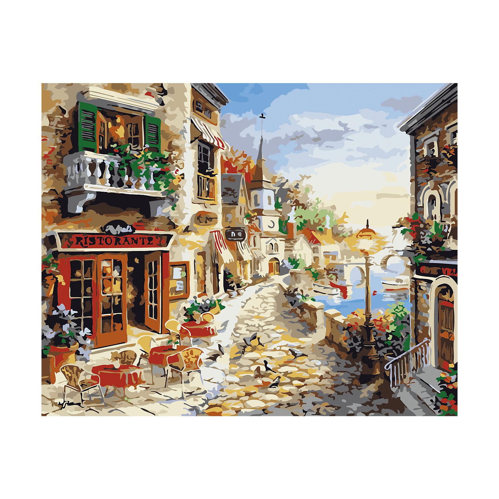 TUKZAR Роспись по номерам Итальянская набережная 40*50 см tukzar роспись по номерам вечерняя набережная 40 50 см