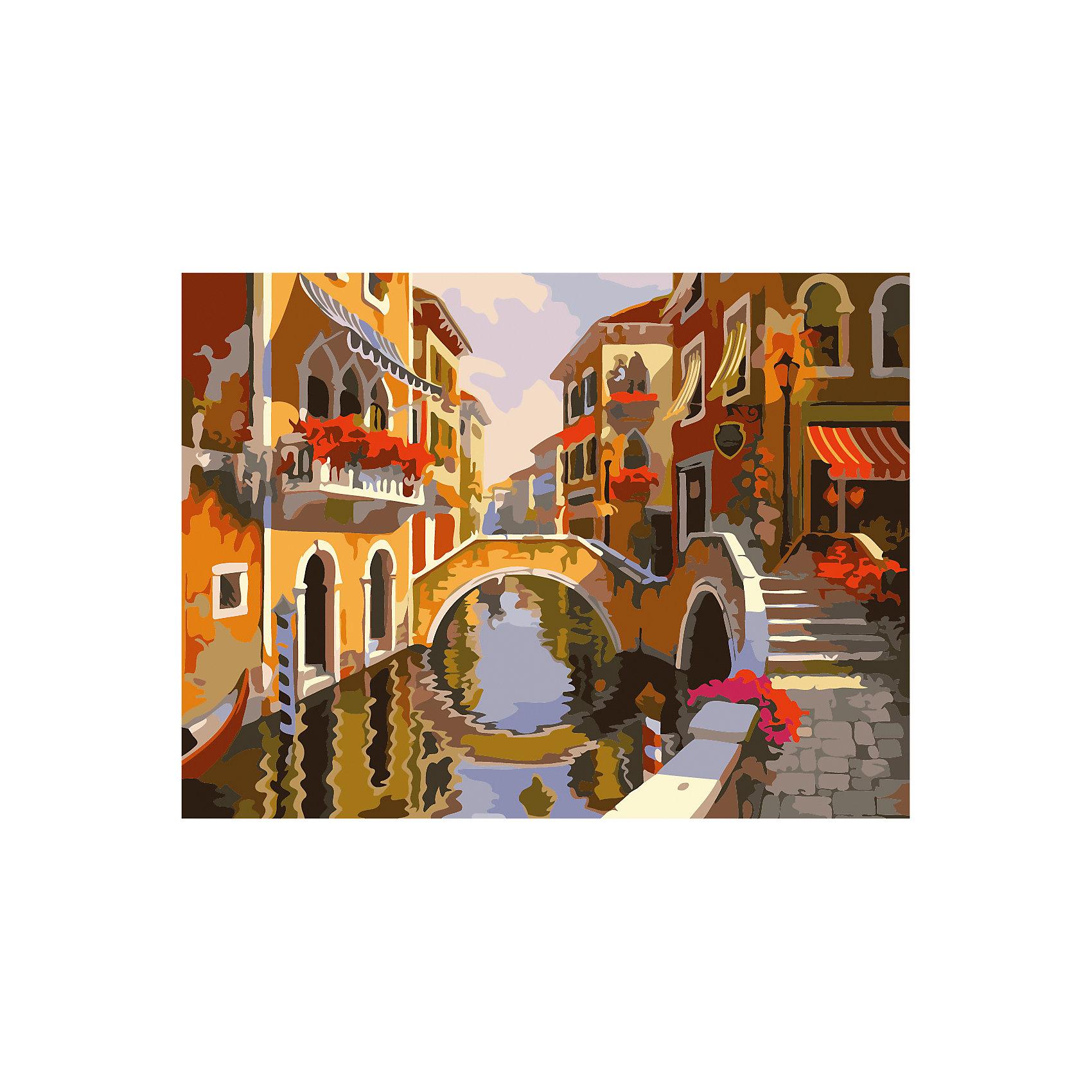 Роспись по номерам Речной канал 40*50 смРисование<br>Характеристики товара:<br><br>- цвет: разноцветный;<br>- материал: бумага, акрил;<br>- комплектация: холст на подрамнике, кисти, краски, контрольный рисунок, инструкция;<br>- размер картины: 40х50 см;<br>- размер упаковки: 42х52х3 см.<br><br>Этот набор для рисования станет отличным подарком и для ребенка, и для взрослого. Он помогает развить художественные навыки, поверить в свои силы, а в итоге работы получается произведение искусства, которое может украсить интерьер!<br>Основа комплекта - это полотно на подрамнике размером 40 на 50 сантиметров, на которое нанесены контуры рисунка, а участки пронумерованы. Каждому номеру соответствует баночка с краской определенного оттенка. Для удобного нанесения акриловых красок на водной основе в наборе есть три разные кисти, с их помощью даже мелкие детали можно аккуратно и красиво прорисовать. Чтобы контролировать процесс, можно сверяться с контрольным рисунком, на котором изображена готовая картина.<br>Роспись по такой схеме помогает развивать зрительную память, концентрацию внимания, мелкую моторику и цветовосприятие.<br><br>Роспись по номерам Речной канал 40*50 см можно купить в нашем интернет-магазине.<br><br>Ширина мм: 420<br>Глубина мм: 520<br>Высота мм: 50<br>Вес г: 900<br>Возраст от месяцев: 36<br>Возраст до месяцев: 2147483647<br>Пол: Унисекс<br>Возраст: Детский<br>SKU: 5117444