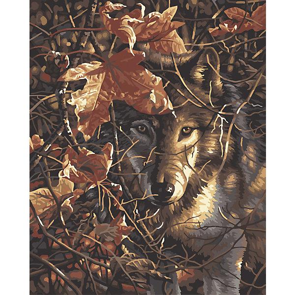 Роспись по номерам Волк в осеннем лесу 40*50смПоследняя цена<br>Характеристики товара:<br><br>- цвет: разноцветный;<br>- материал: бумага, акрил;<br>- комплектация: холст на подрамнике, кисти, краски, контрольный рисунок, инструкция;<br>- размер картины: 40х50 см;<br>- размер упаковки: 42х52х3 см.<br><br>Этот набор для рисования станет отличным подарком и для ребенка, и для взрослого. Он помогает развить художественные навыки, поверить в свои силы, а в итоге работы получается произведение искусства, которое может украсить интерьер!<br>Основа комплекта - это полотно на подрамнике размером 40 на 50 сантиметров, на которое нанесены контуры рисунка, а участки пронумерованы. Каждому номеру соответствует баночка с краской определенного оттенка. Для удобного нанесения акриловых красок на водной основе в наборе есть три разные кисти, с их помощью даже мелкие детали можно аккуратно и красиво прорисовать. Чтобы контролировать процесс, можно сверяться с контрольным рисунком, на котором изображена готовая картина.<br>Роспись по такой схеме помогает развивать зрительную память, концентрацию внимания, мелкую моторику и цветовосприятие.<br><br>Роспись по номерам Волк в осеннем лесу 40*50 см можно купить в нашем интернет-магазине.<br><br>Ширина мм: 420<br>Глубина мм: 520<br>Высота мм: 50<br>Вес г: 900<br>Возраст от месяцев: 36<br>Возраст до месяцев: 2147483647<br>Пол: Унисекс<br>Возраст: Детский<br>SKU: 5117538