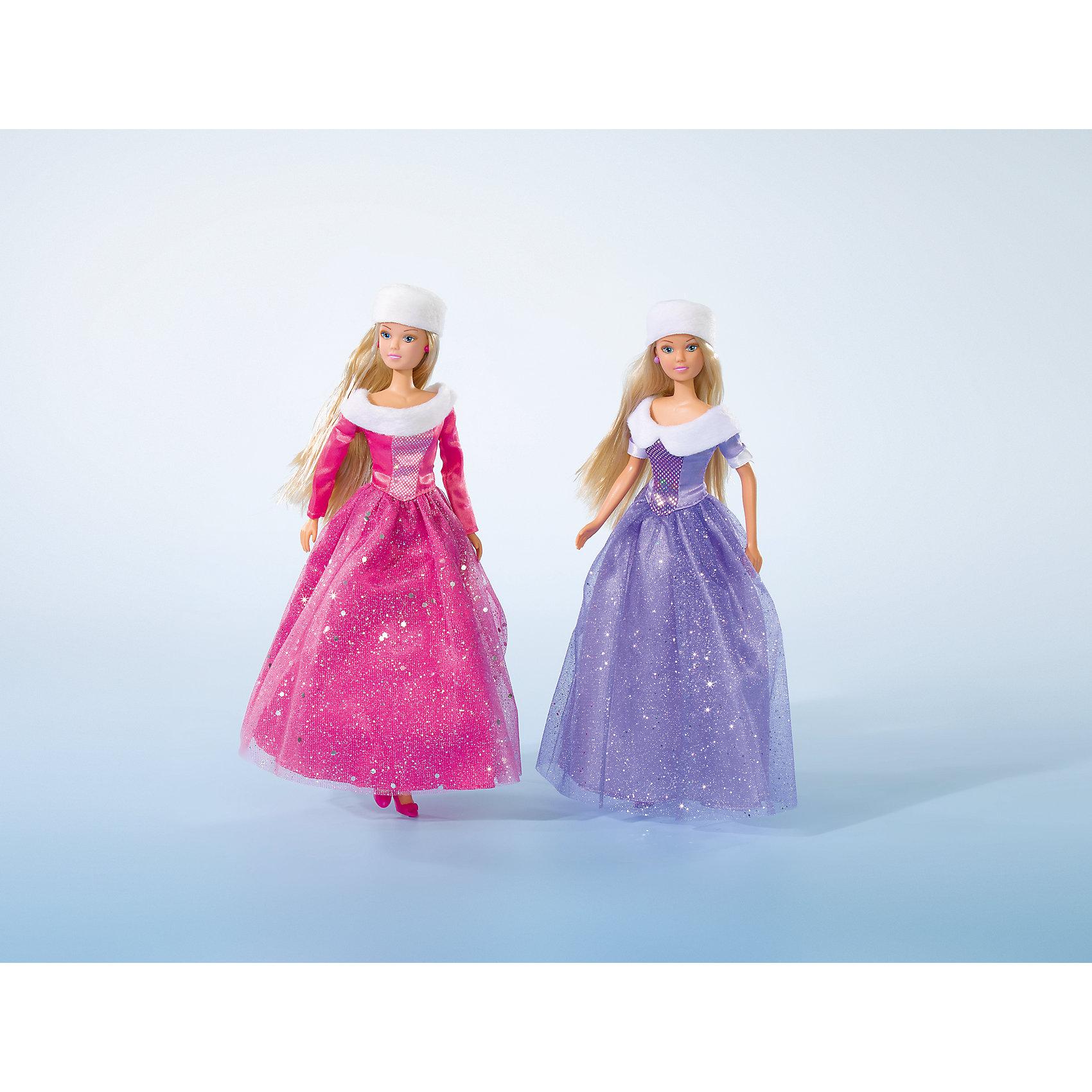 Кукла Штеффи в блестящем зимнем наряде, 29 см, SimbaБренды кукол<br>Характеристики товара:<br><br>- цвет: разноцветный;<br>- материал: пластик;<br>- возраст: от трех лет;<br>- комплектация: кукла, одежда;<br>- высота куклы: 29 см.<br><br>Эта симпатичная кукла Штеффи от известного бренда не оставит девочку равнодушной! Какая девочка сможет отказаться поиграть с куклой в таком шикарном наряде?! В набор входят аксессуары и одежда для игр с куклой. Игрушка очень качественно выполнена, поэтому она станет замечательным подарком ребенку. <br>Продается набор в красивой удобной упаковке. Изделие произведено из высококачественного материала, безопасного для детей.<br><br>Куклу Штеффи в блестящем зимнем наряде, 29 см, от бренда Simba можно купить в нашем интернет-магазине.<br><br>Ширина мм: 50<br>Глубина мм: 160<br>Высота мм: 330<br>Вес г: 310<br>Возраст от месяцев: 36<br>Возраст до месяцев: 120<br>Пол: Женский<br>Возраст: Детский<br>SKU: 5119512