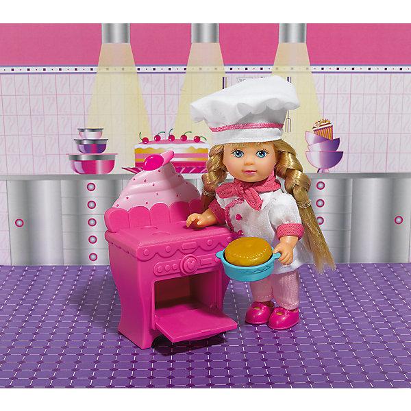 Кукла Еви печет торт, SimbaКуклы<br>Характеристики товара:<br><br>- цвет: разноцветный;<br>- материал: пластик;<br>- возраст: от трех лет;<br>- комплектация: кукла, одежда, мебель, аксессуары;<br>- высота куклы: 12 см.<br><br>Эта симпатичная кукла Еви от известного бренда приводит детей в восторг! Какая девочка сможет отказаться поиграть с куклами, которые дополнены набором в виде кухни и предметами для неё?! В набор входят аксессуары и предметы мебели для игр с куклой. Игрушка очень качественно выполнена, поэтому она станет замечательным подарком ребенку. <br>Продается набор в красивой удобной упаковке. Изделие произведено из высококачественного материала, безопасного для детей.<br><br>Куклу Еви печет торт от бренда Simba можно купить в нашем интернет-магазине.<br><br>Ширина мм: 120<br>Глубина мм: 160<br>Высота мм: 50<br>Вес г: 140<br>Возраст от месяцев: 36<br>Возраст до месяцев: 120<br>Пол: Женский<br>Возраст: Детский<br>SKU: 5119521
