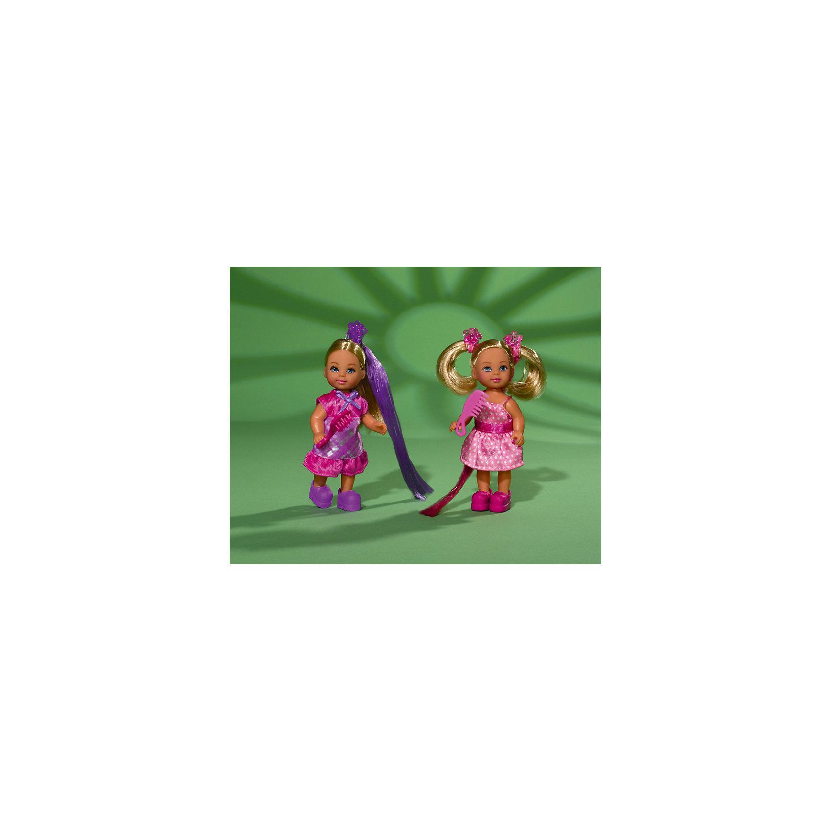Simba Кукла Еви супер-волосы, Simba simba еви с длинными волосами 2 расчески заколочки hello kitty