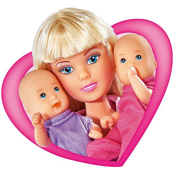 Кукла Штеффи с коляской, SimbaКуклы модели<br>Характеристики товара:<br><br>- цвет: разноцветный;<br>- материал: пластик;<br>- возраст: от трех лет;<br>- комплектация: кукла, аксессуары, 2 пупса;<br>- высота куклы: 29 см.<br><br>Эта симпатичная кукла Штеффи от известного бренда не оставит девочку равнодушной! Какая девочка сможет отказаться поиграть с куклами, которые дополнены набором в виде детей и предметов для них?! В набор входят аксессуары для игр с куклой. Игрушка очень качественно выполнена, поэтому она станет замечательным подарком ребенку. <br>Продается набор в красивой удобной упаковке. Изделие произведено из высококачественного материала, безопасного для детей.<br><br>Куклу Штеффи с коляской от бренда Simba можно купить в нашем интернет-магазине.<br>Ширина мм: 85; Глубина мм: 325; Высота мм: 260; Вес г: 540; Возраст от месяцев: 36; Возраст до месяцев: 120; Пол: Женский; Возраст: Детский; SKU: 5119531;